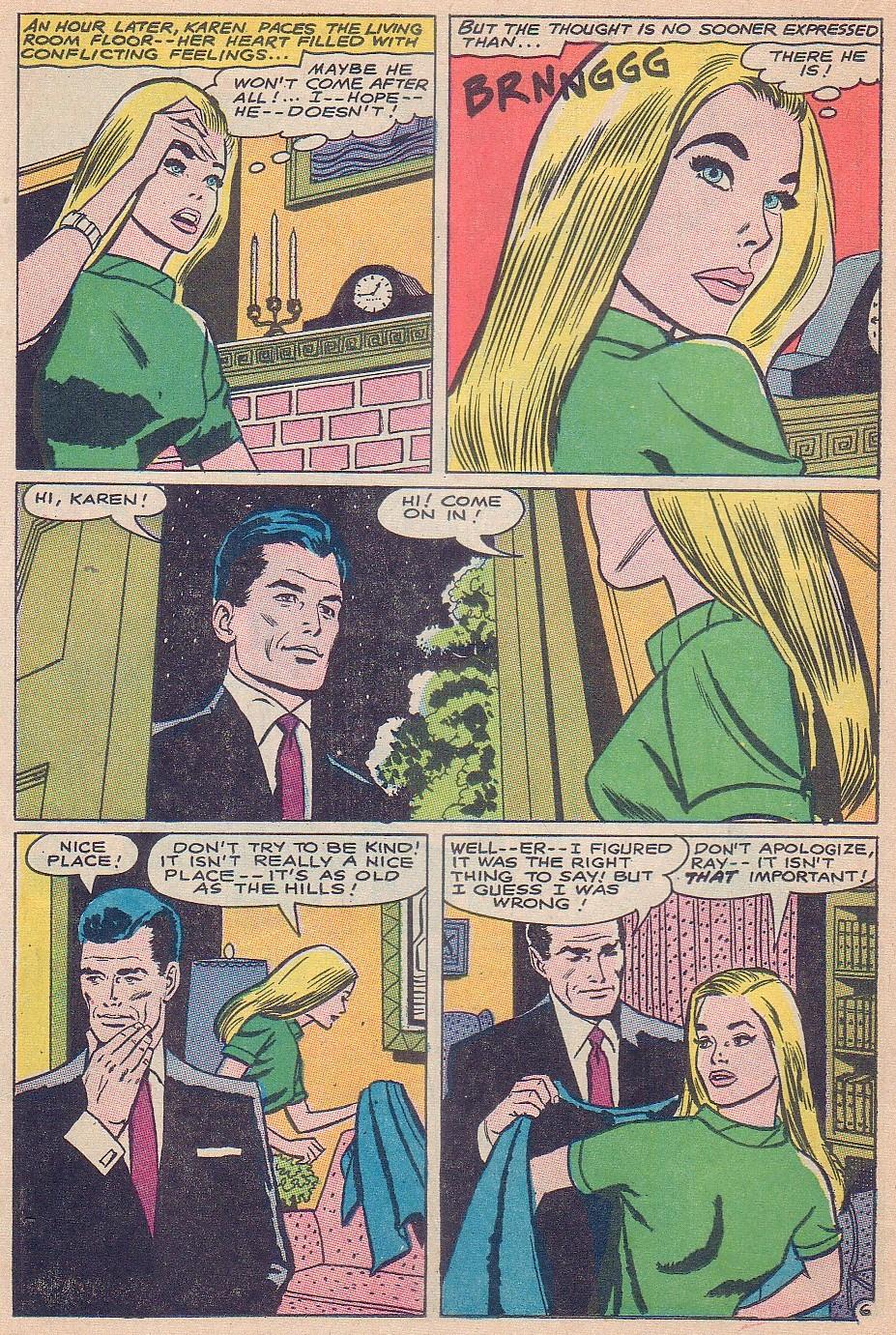 Read online Secret Hearts comic -  Issue #124 - 22