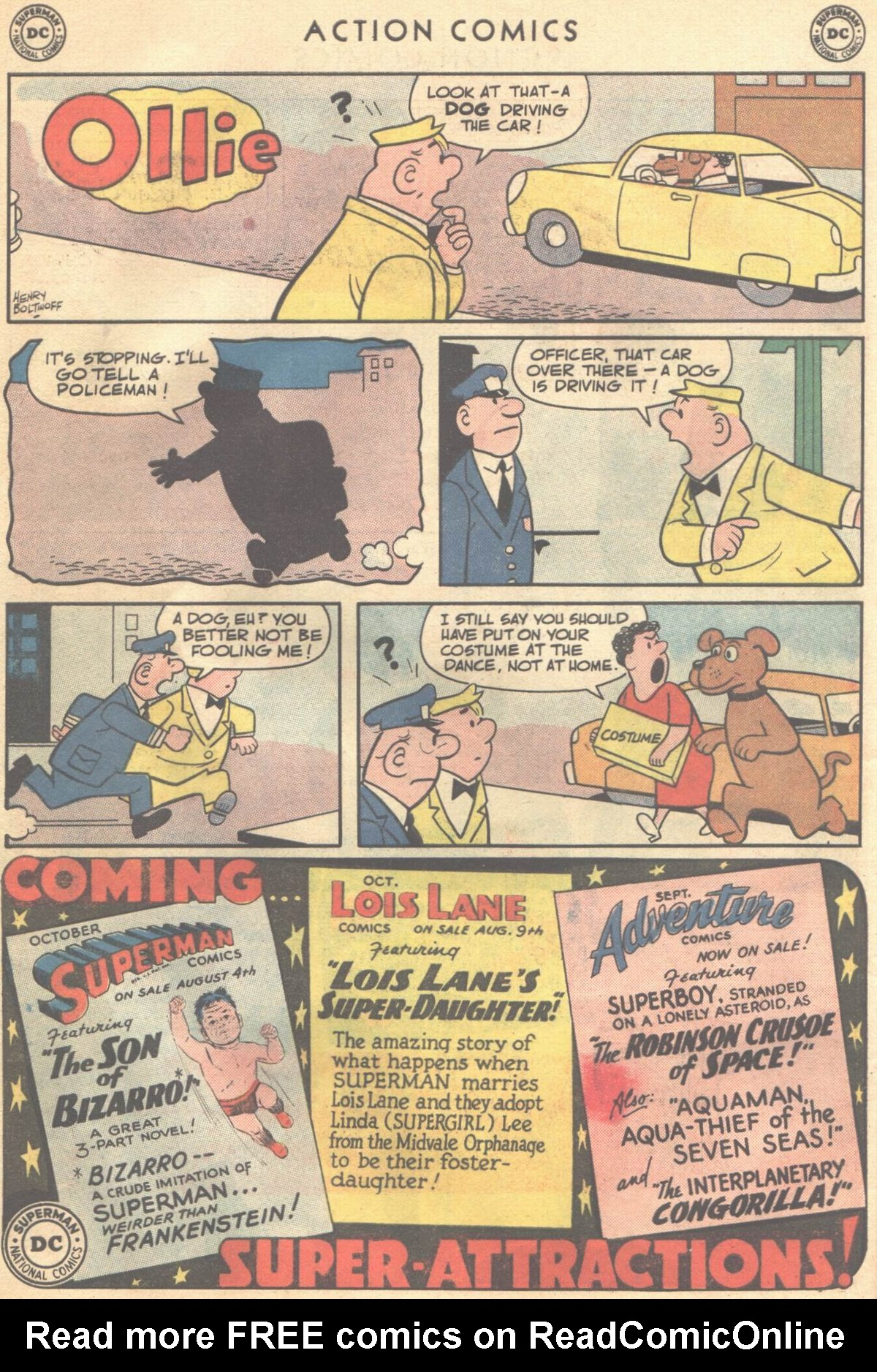 Read online Action Comics (1938) comic -  Issue #268 - 32