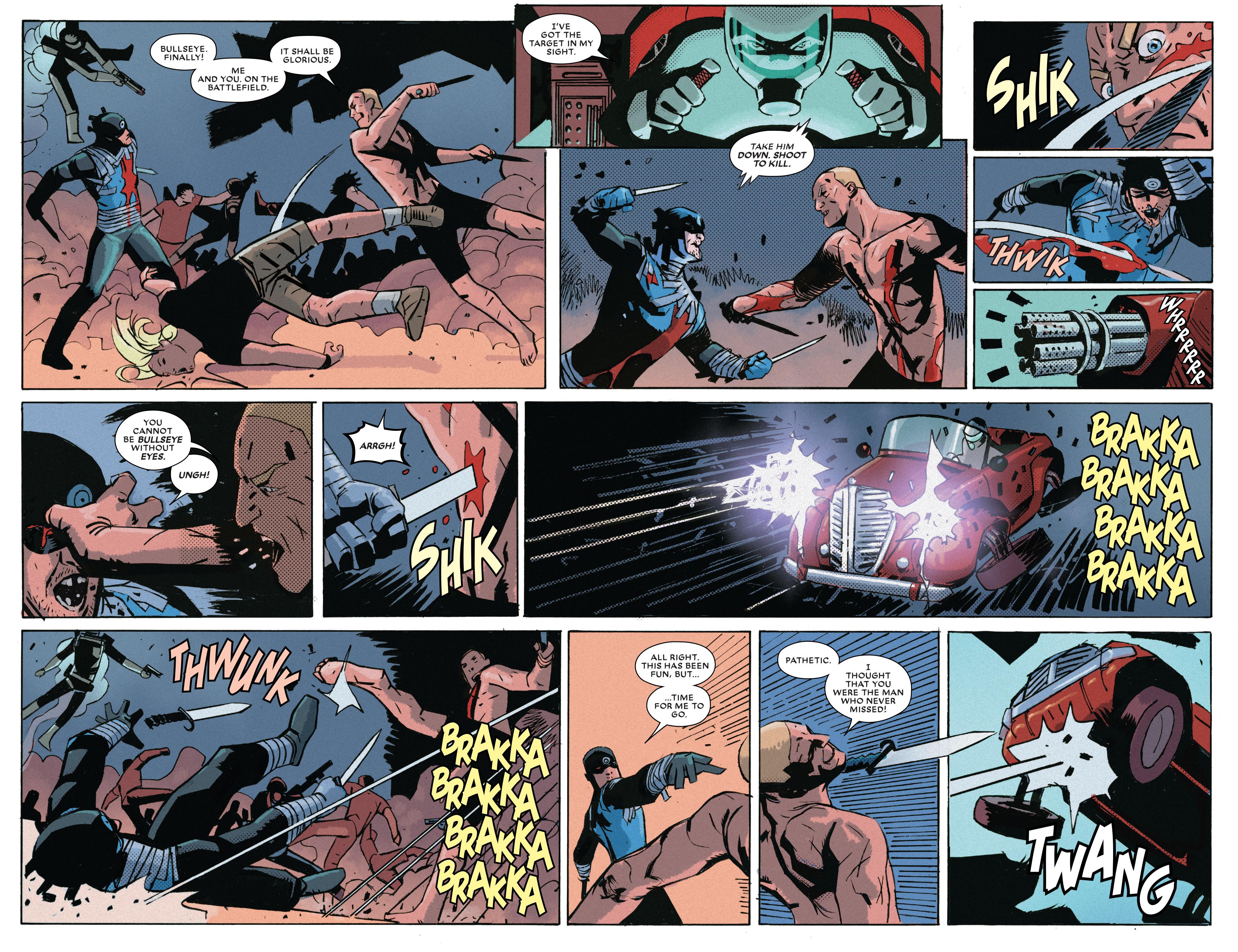 Read online Bullseye comic -  Issue #5 - 8