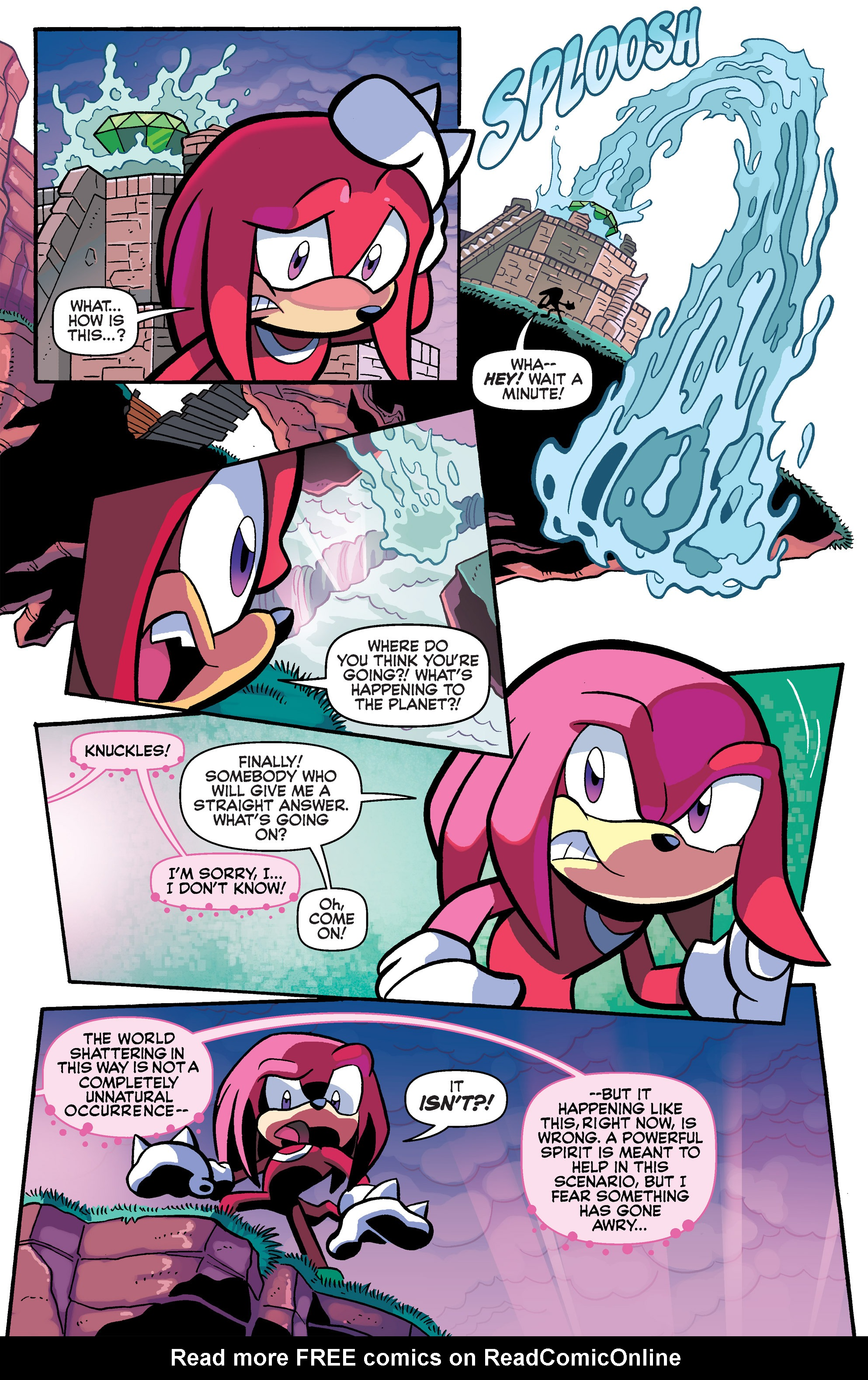 Read online Sonic Universe comic -  Issue #63 - 4