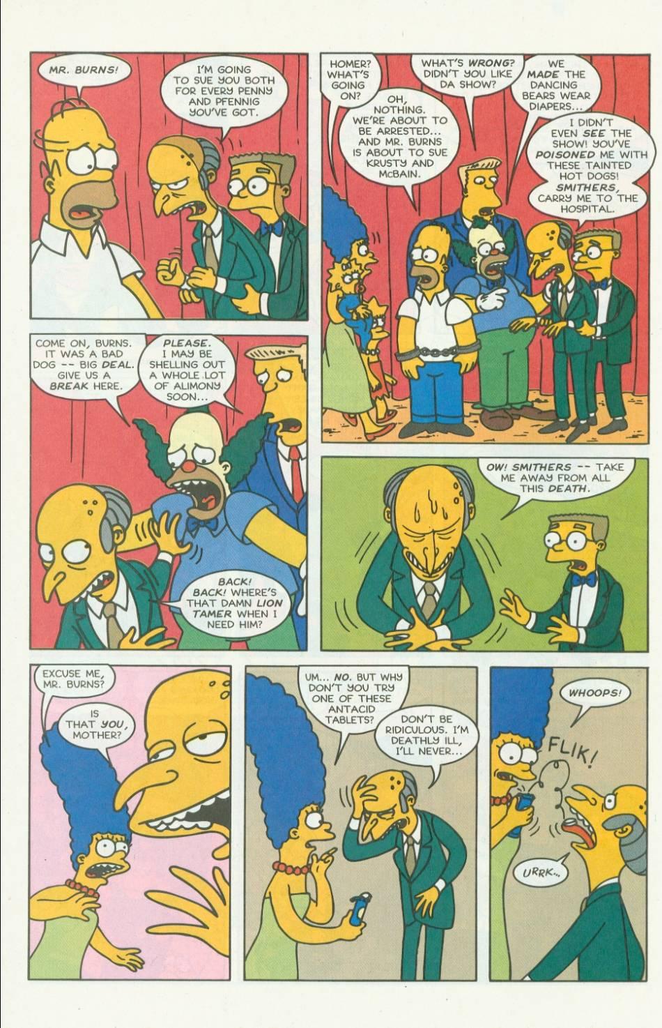 Read online Simpsons Comics comic -  Issue #7 - 21