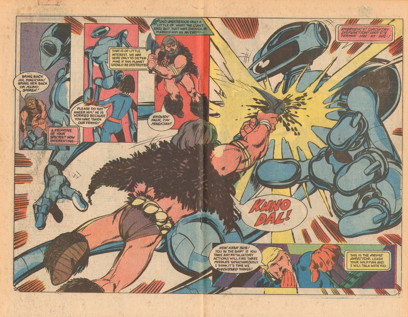 Read online Doomsday   1 (1975) comic -  Issue #9 - 18