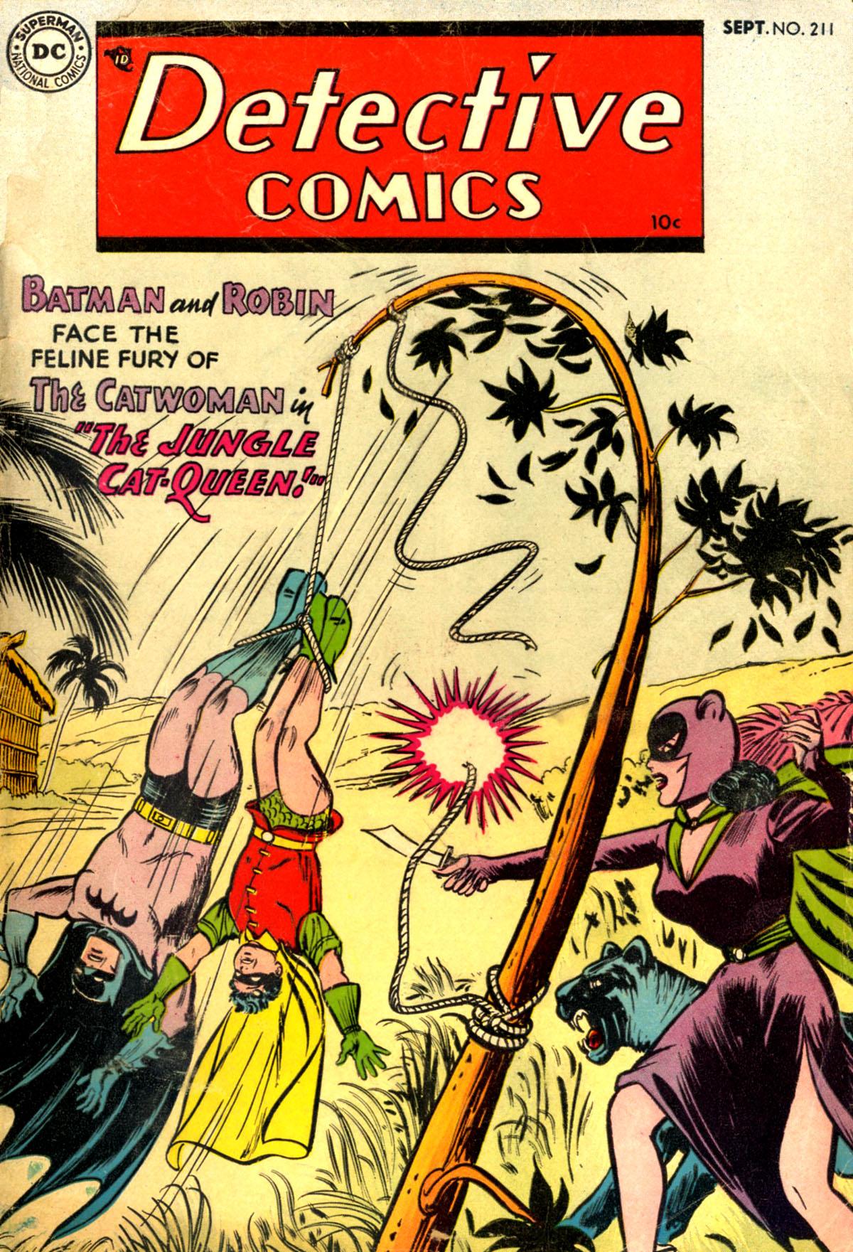 Read online Detective Comics (1937) comic -  Issue #211 - 1
