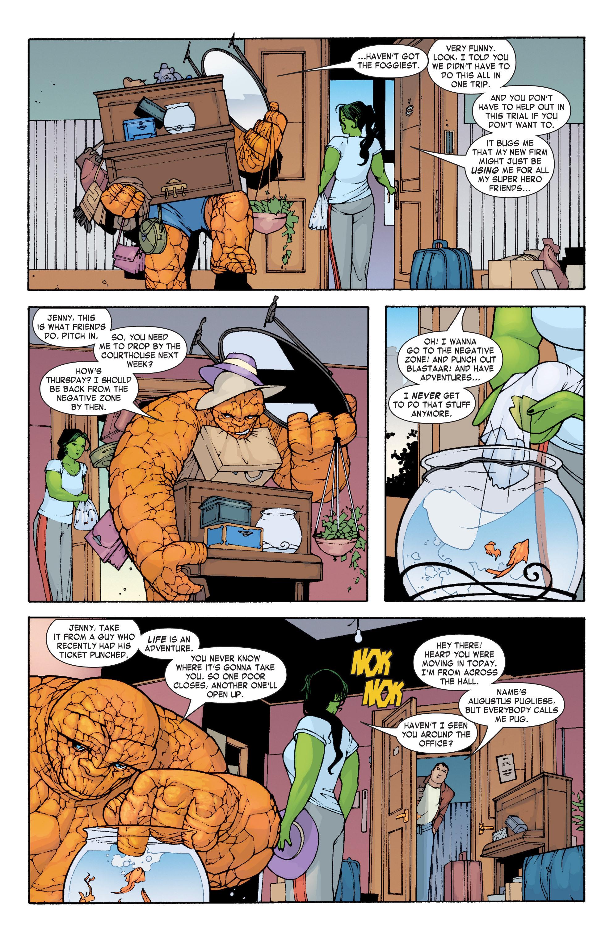 Read online She-Hulk (2004) comic -  Issue #3 - 8