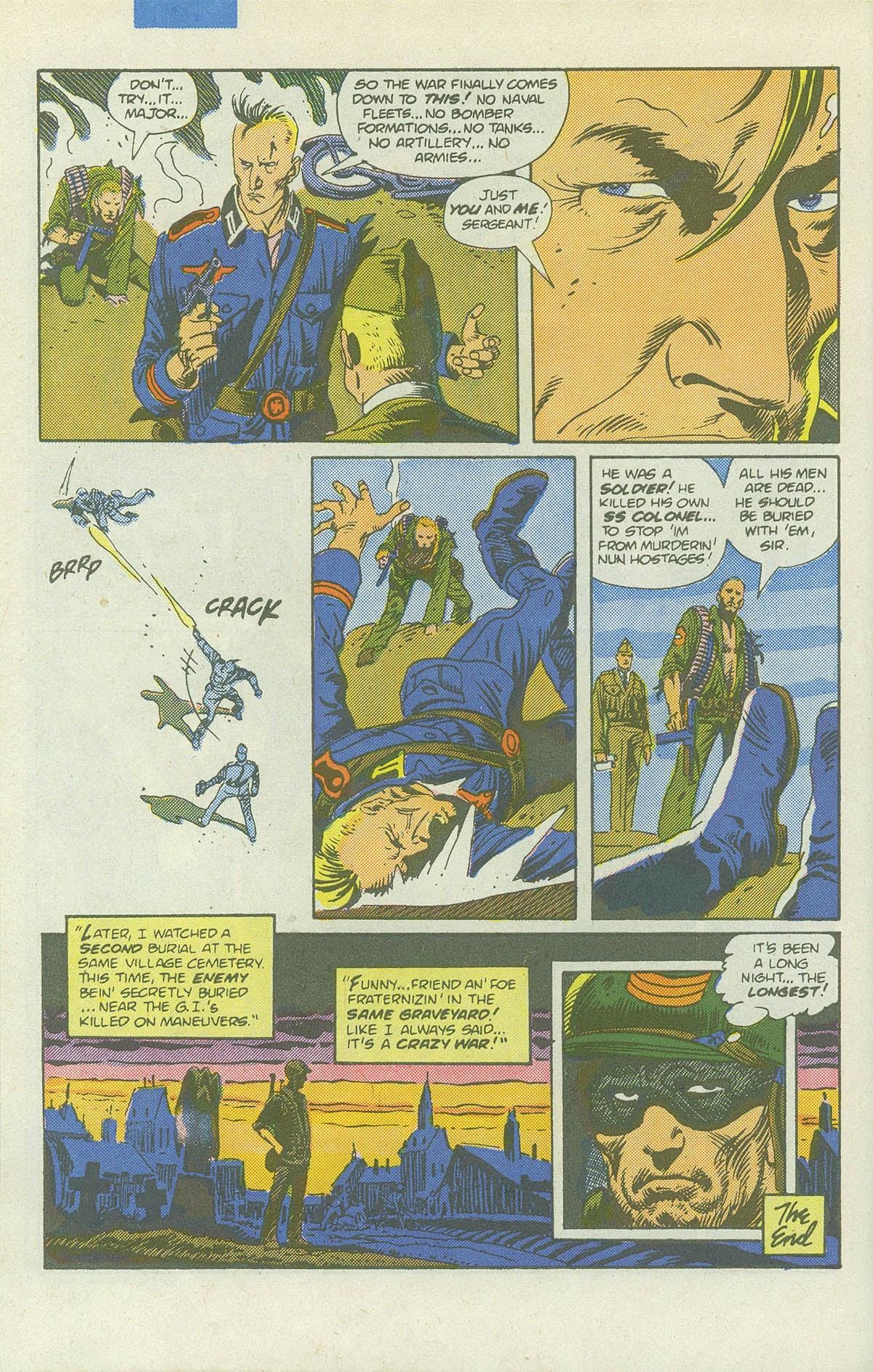 Read online Sgt. Rock comic -  Issue #422 - 31
