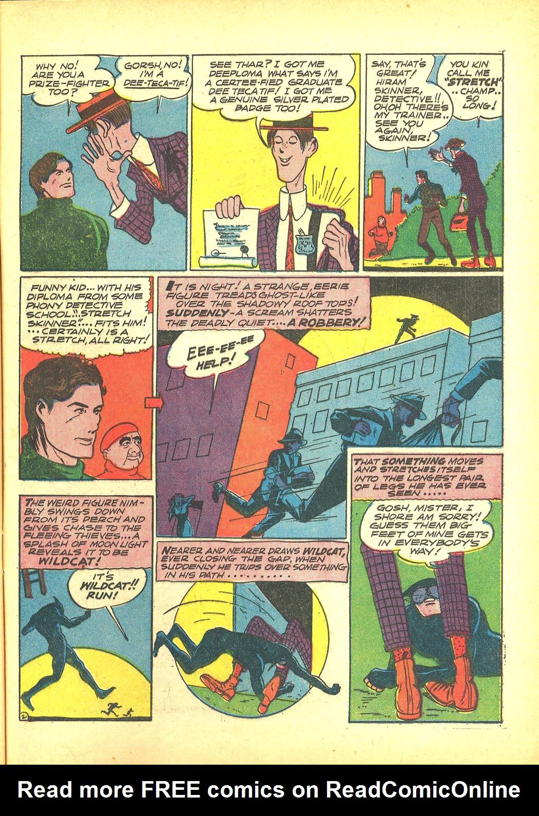 Read online Sensation (Mystery) Comics comic -  Issue #4 - 57