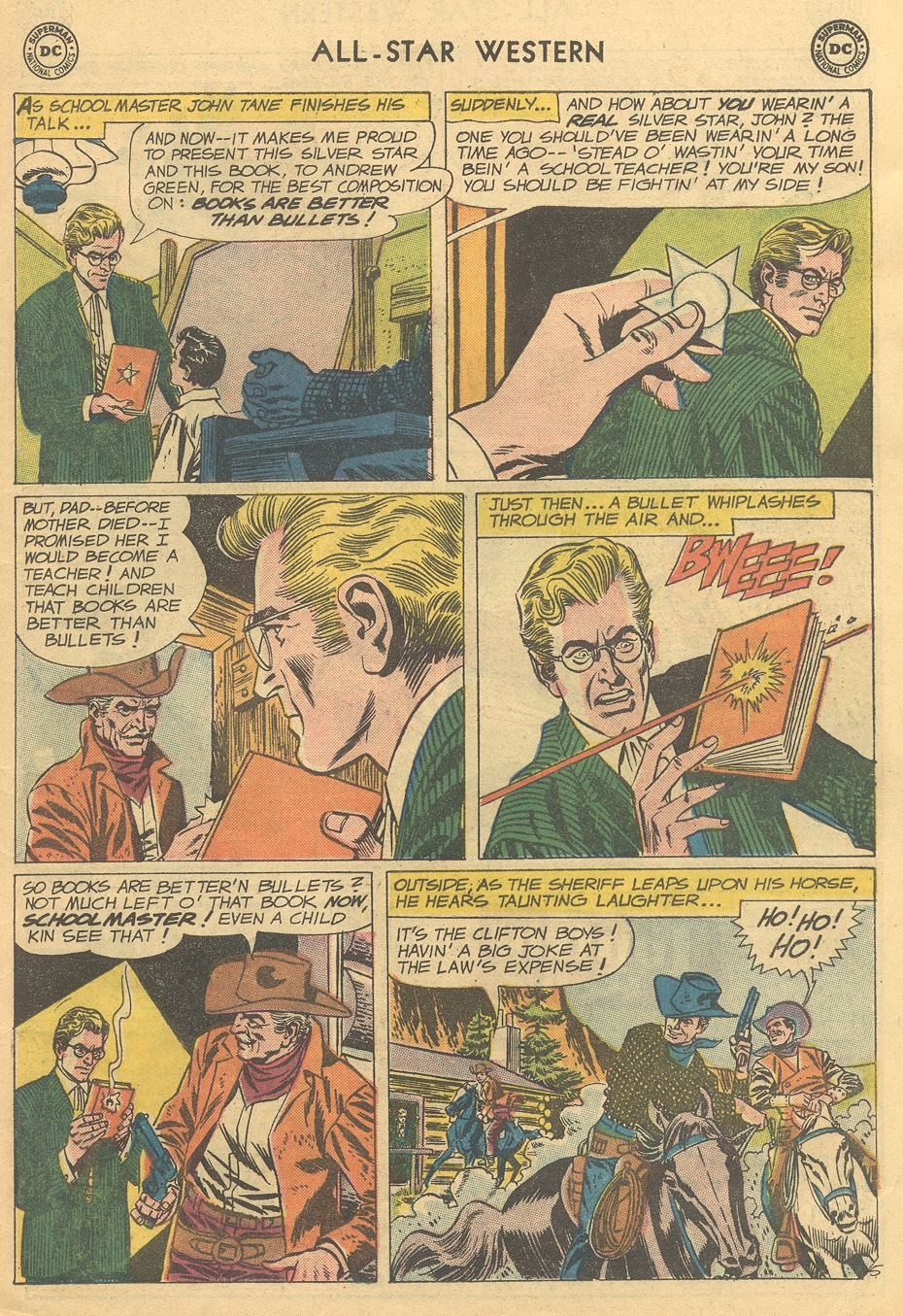 Read online All-Star Western (1951) comic -  Issue #108 - 7