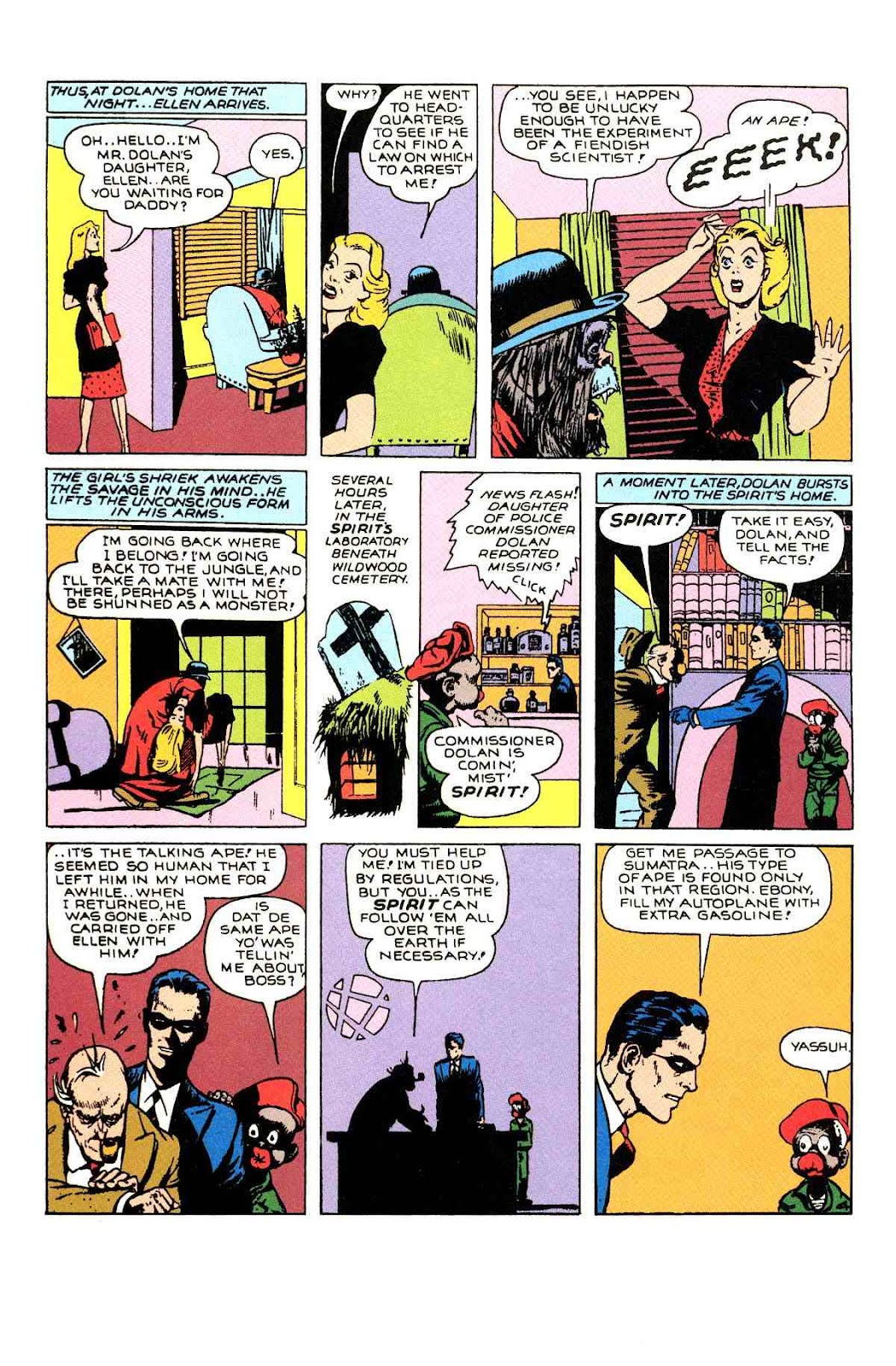 Read online Will Eisner's The Spirit Archives comic -  Issue # TPB 1 (Part 2) - 3