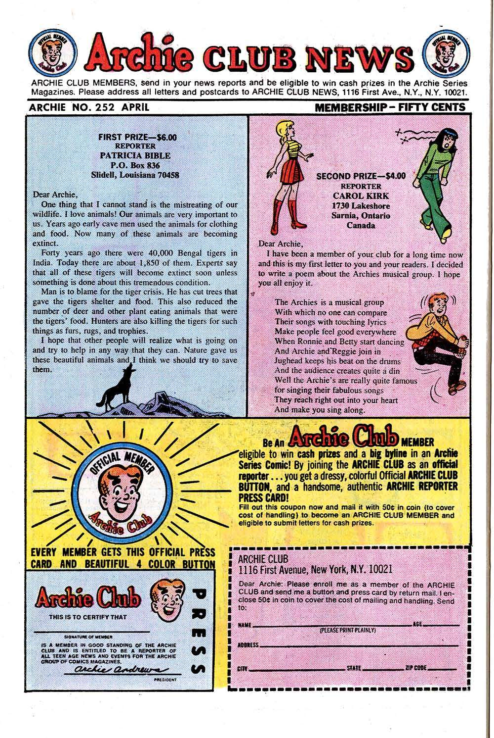 Read online Archie (1960) comic -  Issue #252 - 26