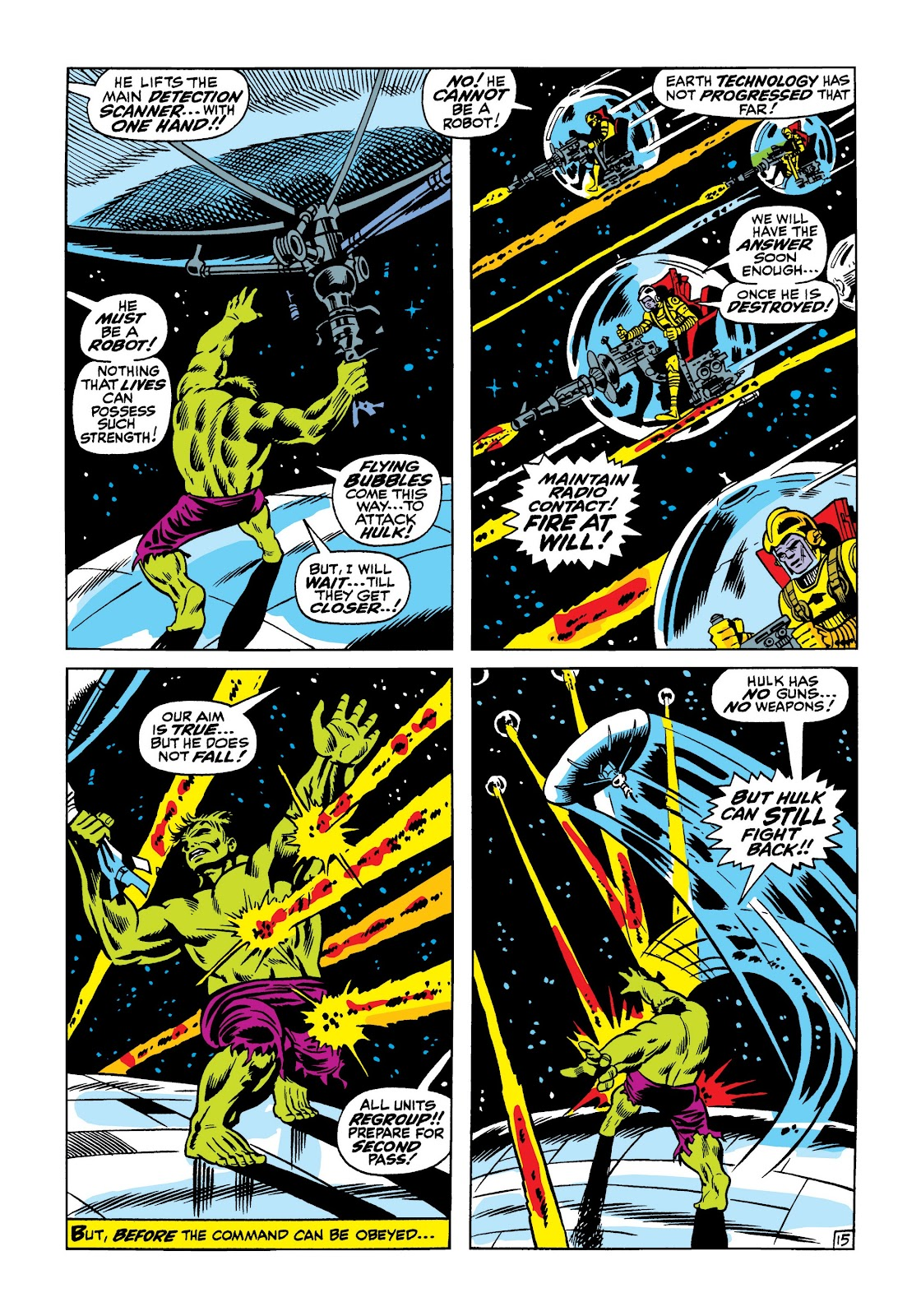Read online Marvel Masterworks: The Incredible Hulk comic -  Issue # TPB 5 (Part 1) - 21