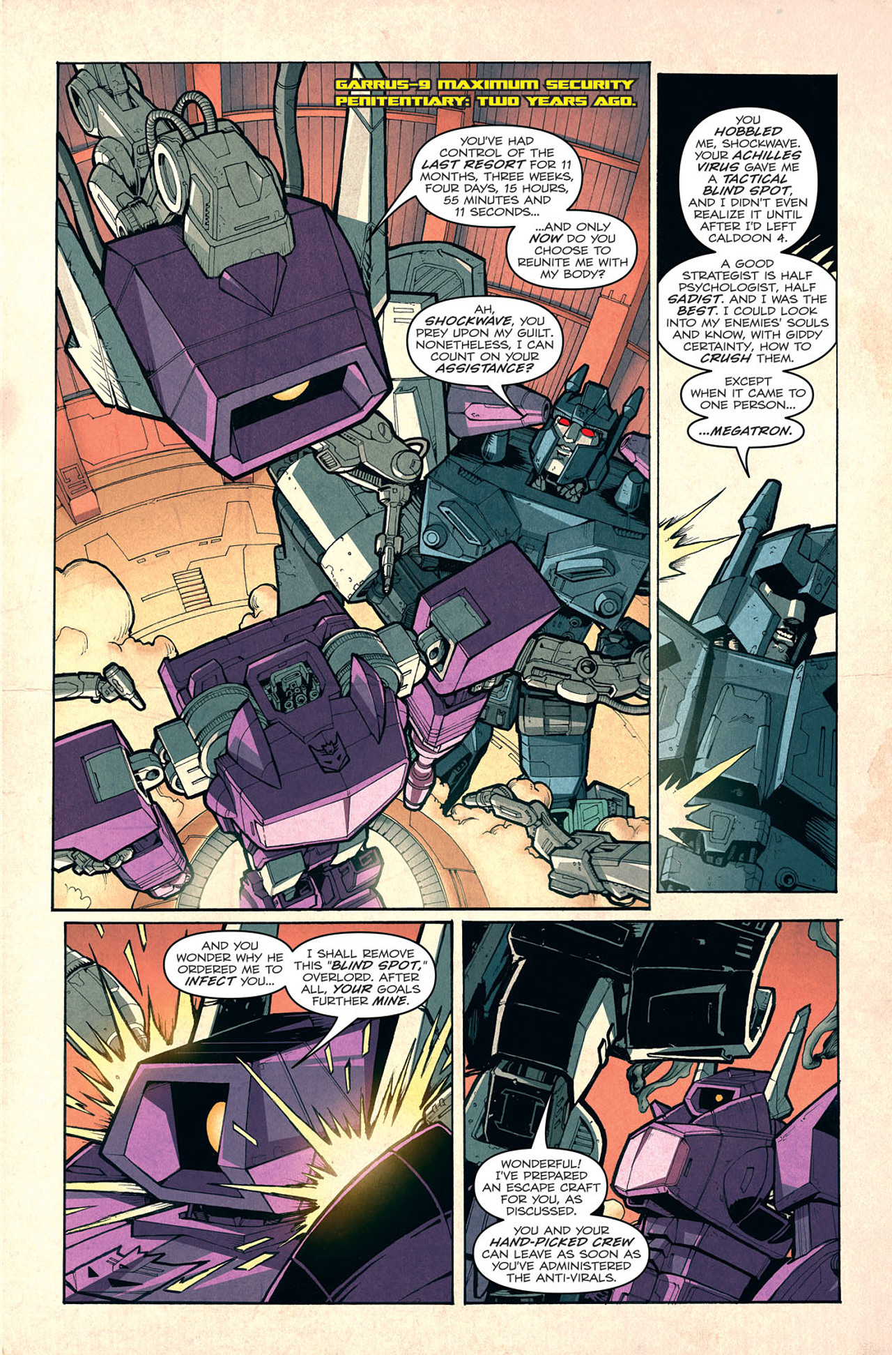 Read online Transformers: Last Stand of The Wreckers comic -  Issue #3 - 5
