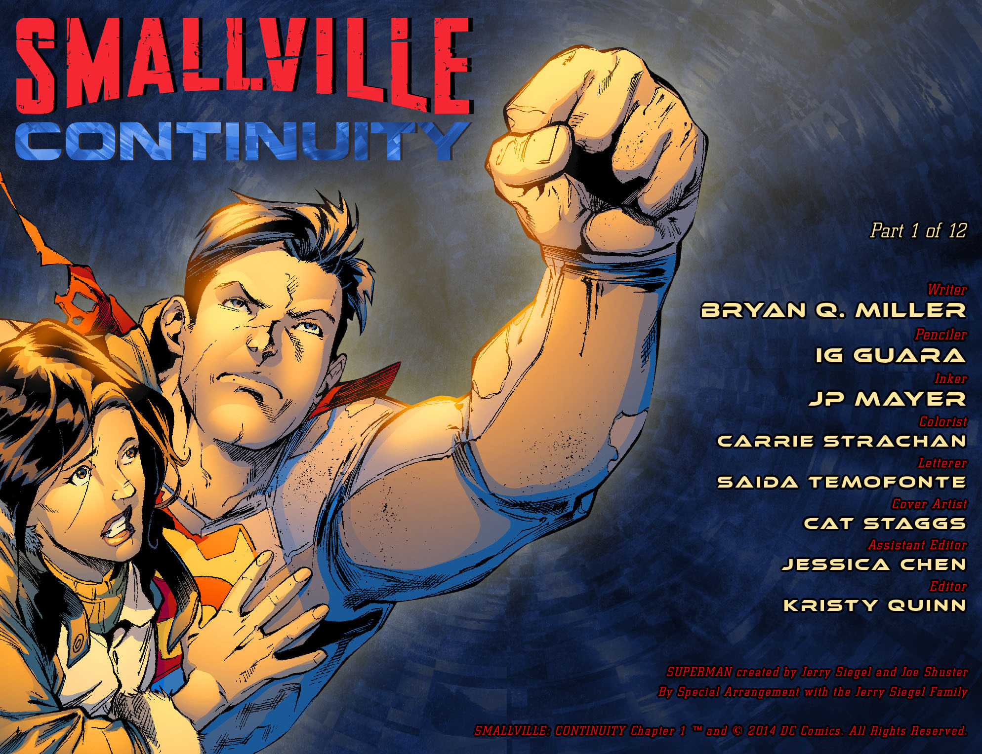 Read online Smallville: Continuity comic -  Issue #1 - 2