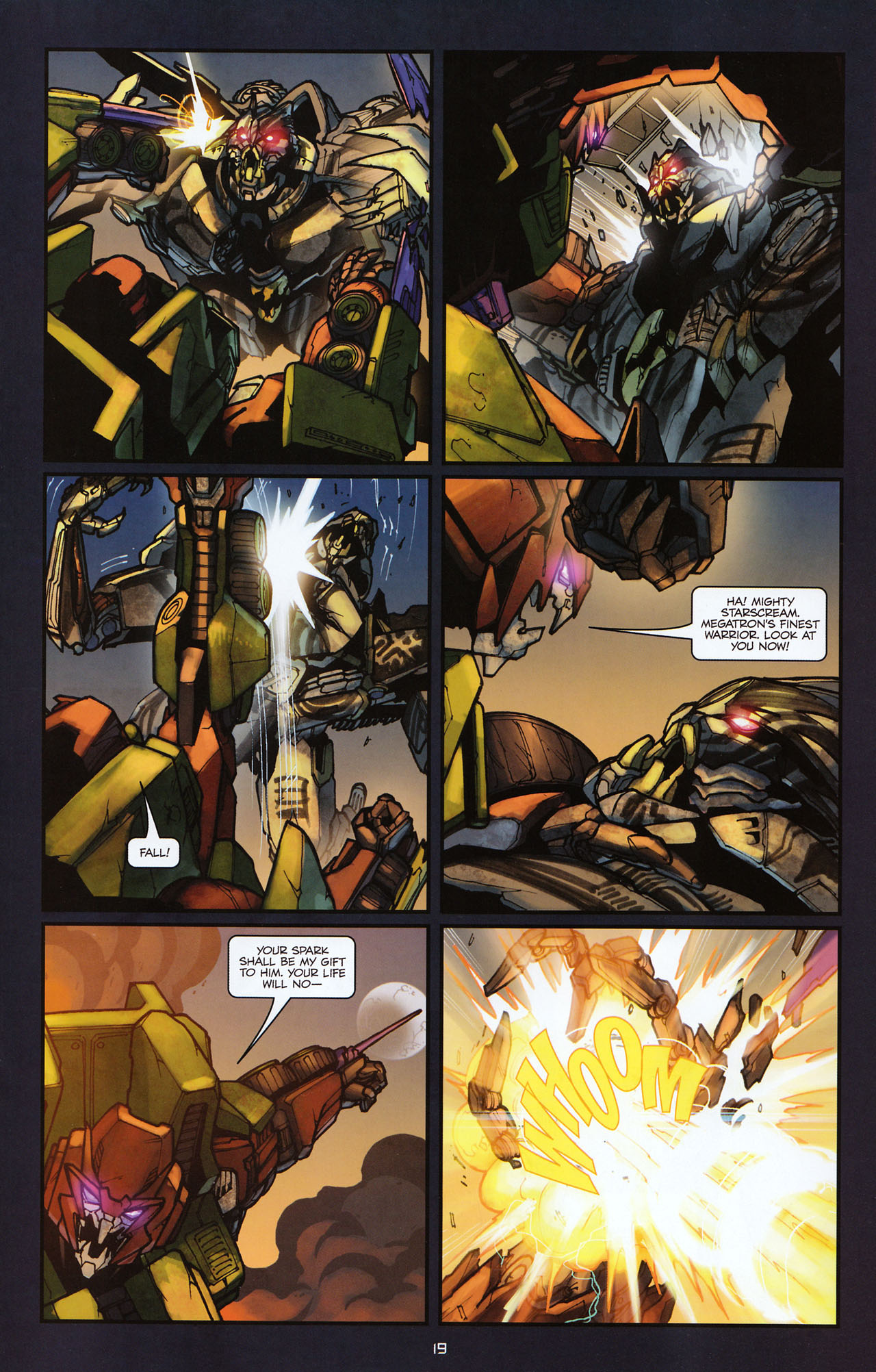 Read online Transformers: Alliance comic -  Issue #2 - 22