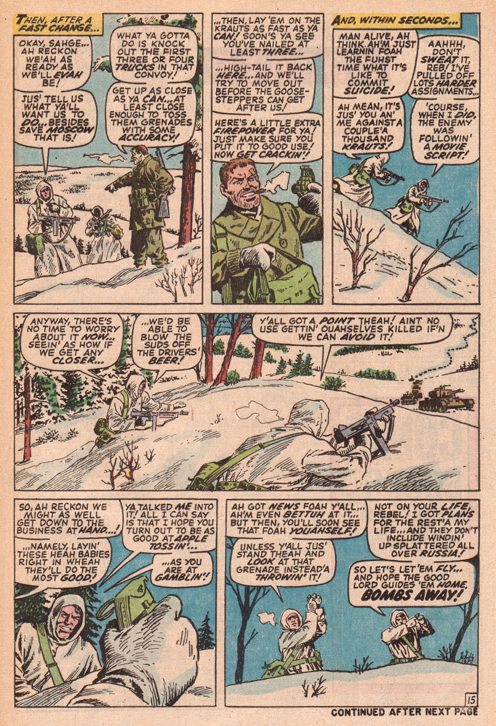 Read online Sgt. Fury comic -  Issue #73 - 21