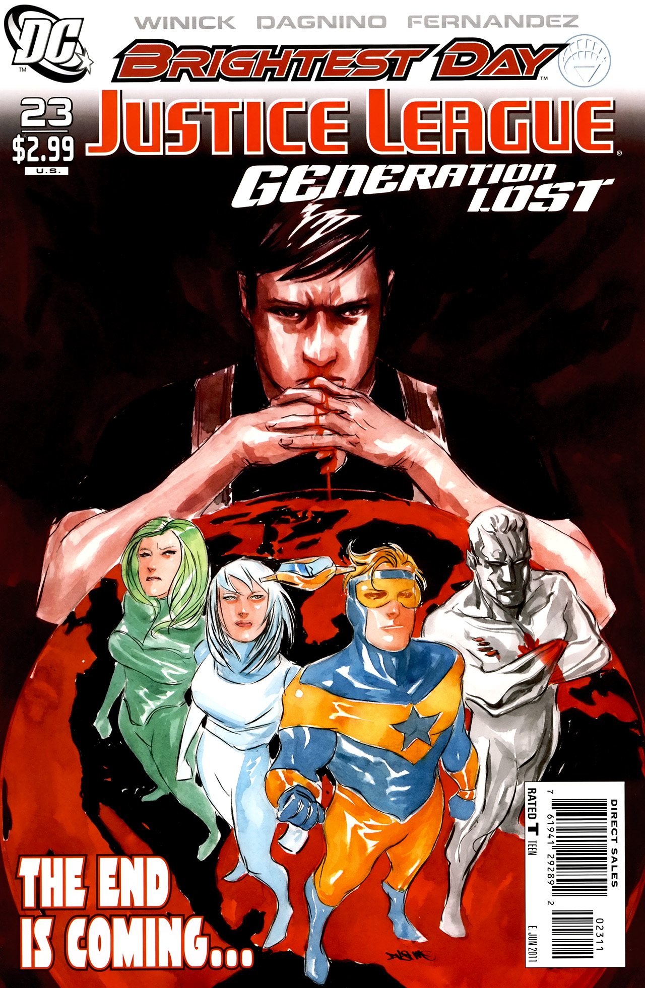 Read online Justice League: Generation Lost comic -  Issue #23 - 1