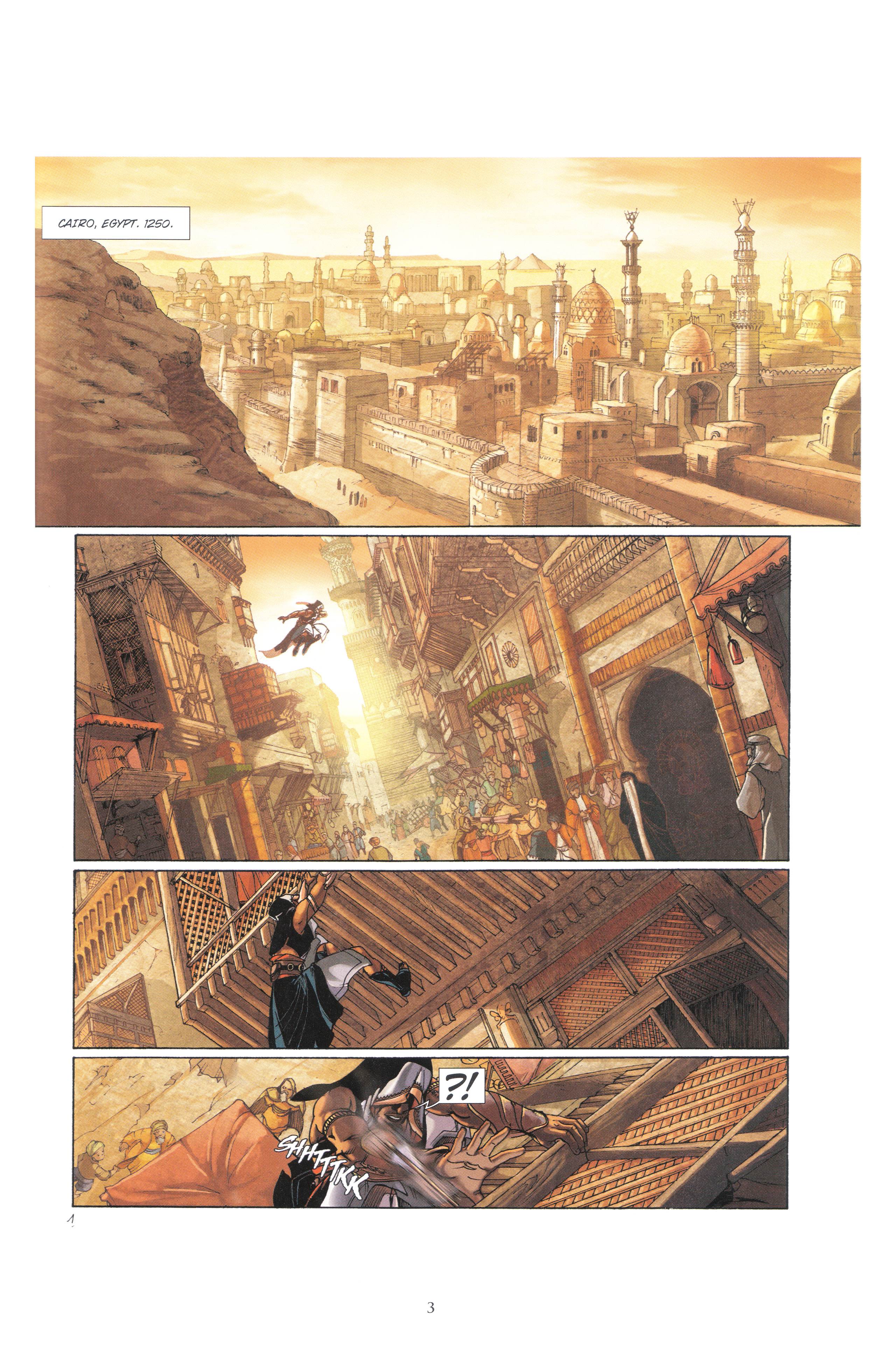 Read online Assassin's Creed (2009) comic -  Issue #4 - 3
