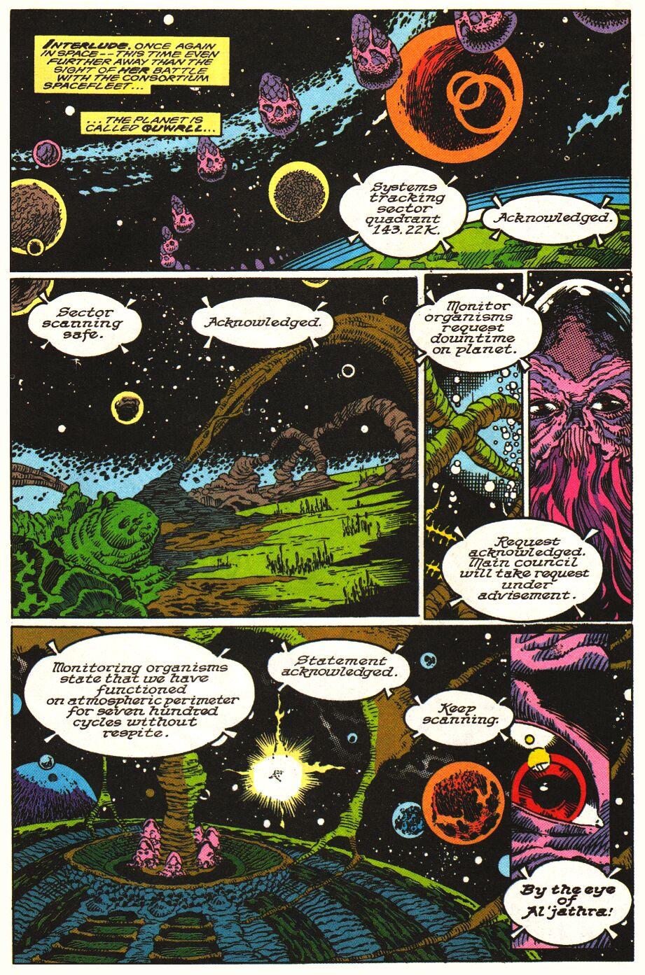 Read online Alpha Flight Special comic -  Issue #1 - 12