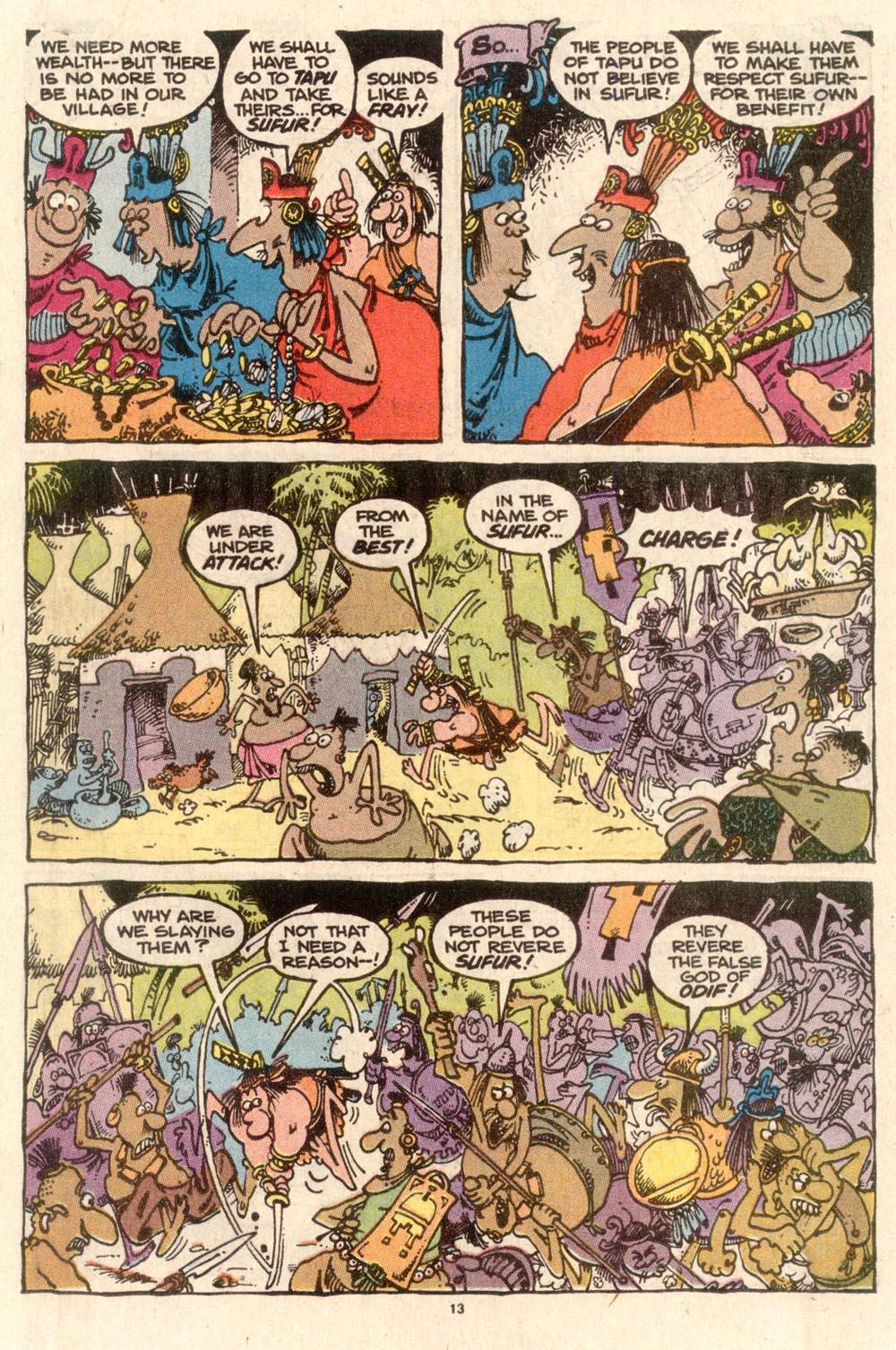 Read online Sergio Aragonés Groo the Wanderer comic -  Issue #58 - 13