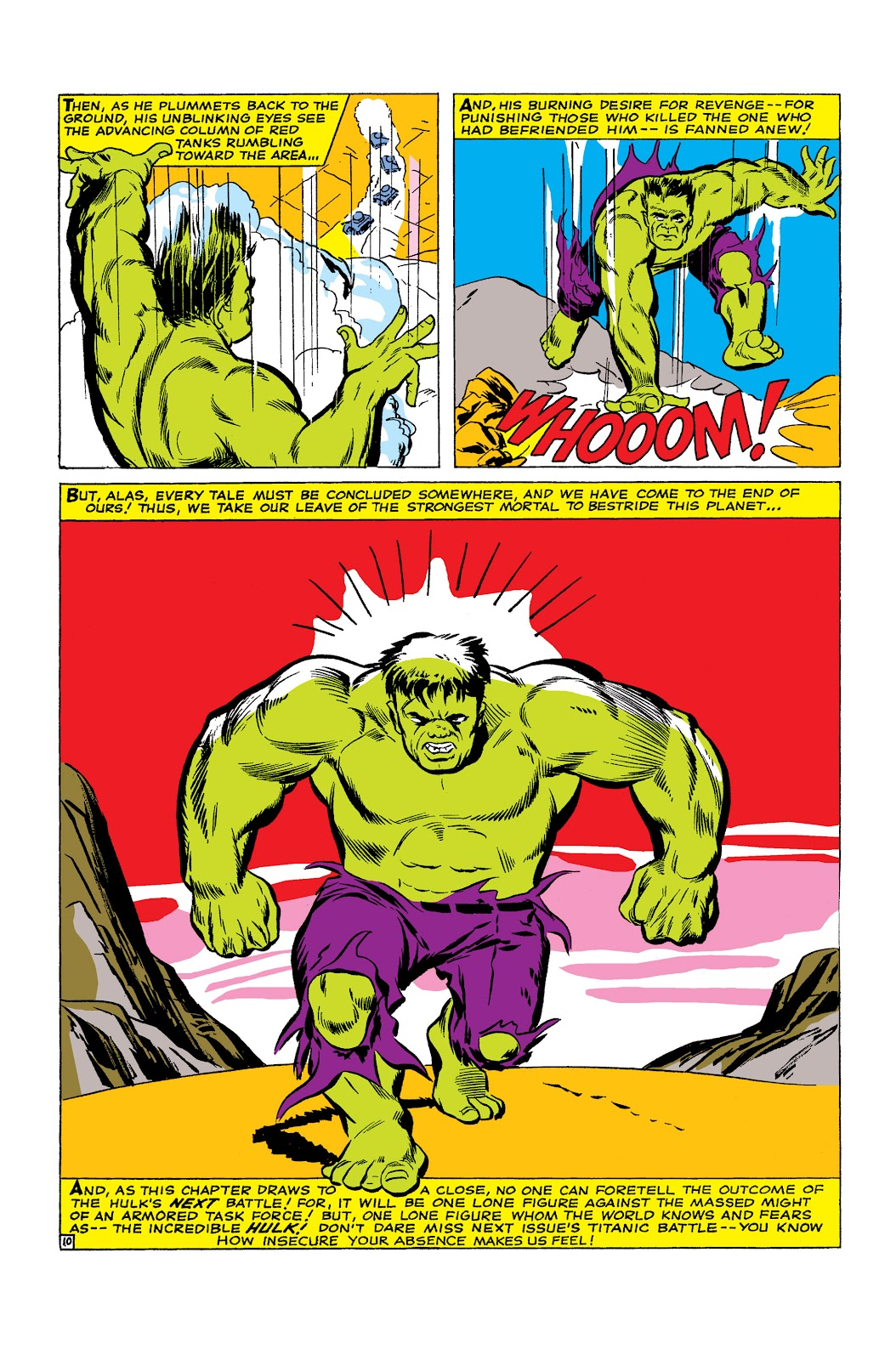 Read online Marvel Masterworks: The Incredible Hulk comic -  Issue # TPB 2 (Part 1) - 100