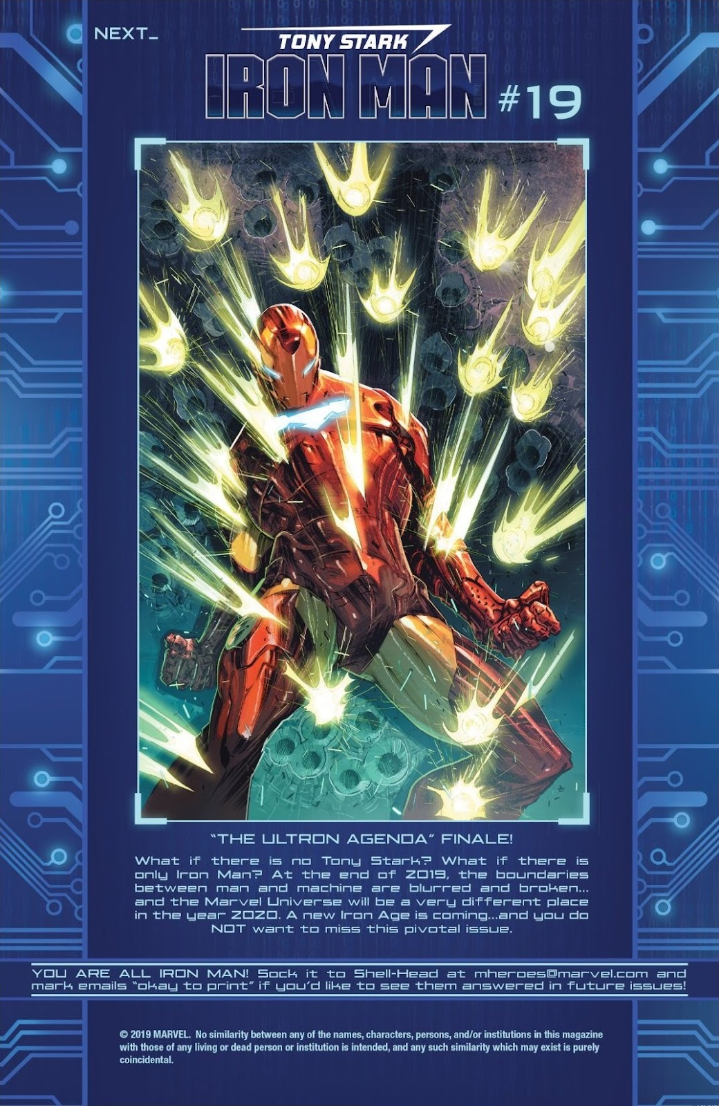 Read online Tony Stark: Iron Man comic -  Issue #18 - 21