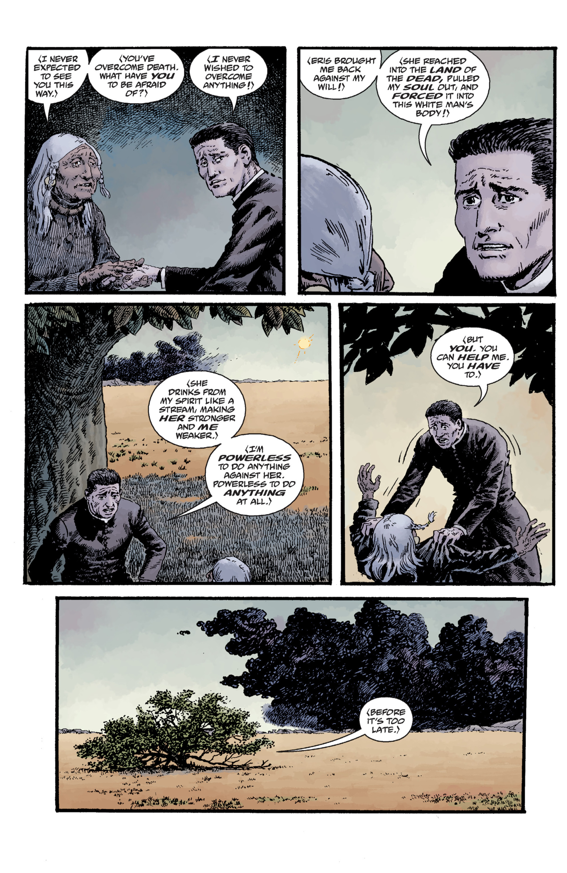 Read online Sir Edward Grey, Witchfinder: Lost and Gone Forever comic -  Issue # TPB - 93