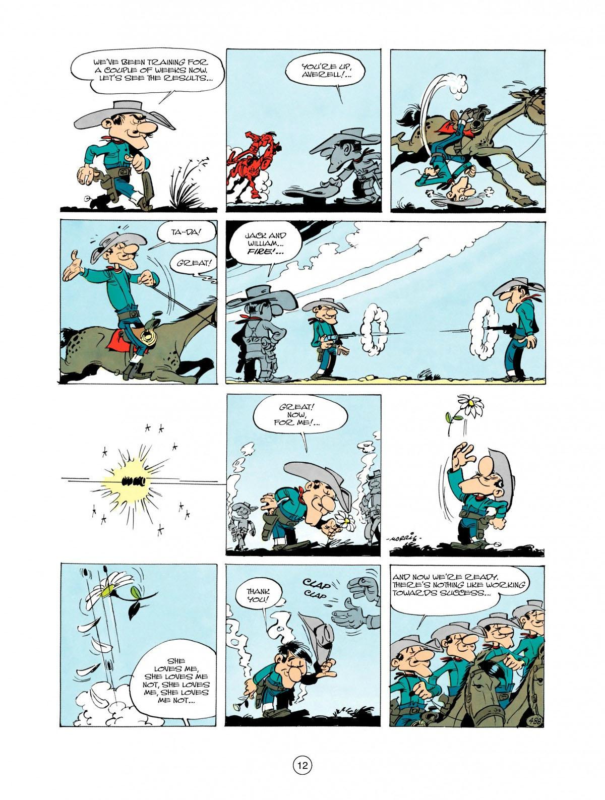 Read online A Lucky Luke Adventure comic -  Issue #28 - 13