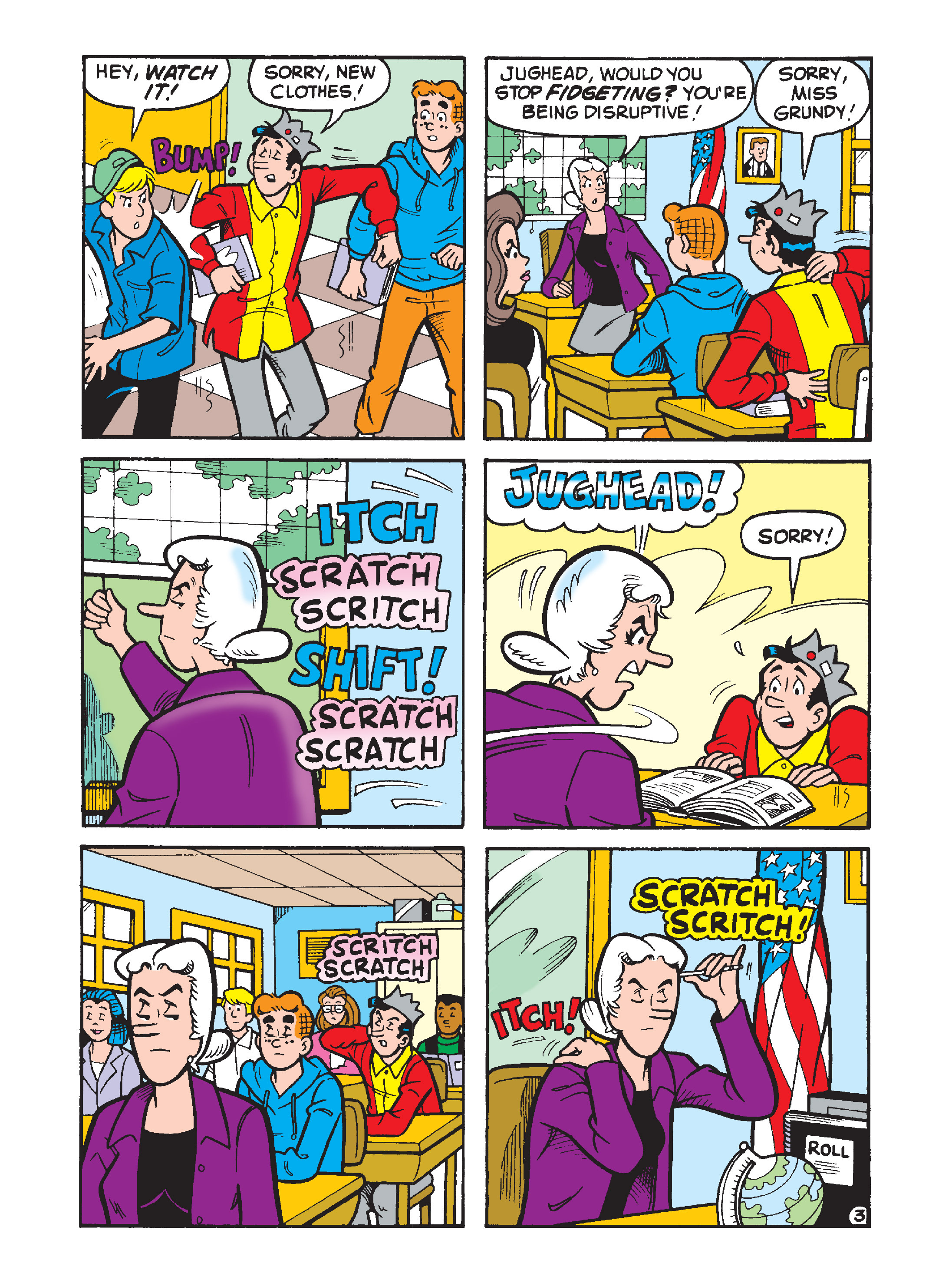 Read online Archie's Funhouse Double Digest comic -  Issue #8 - 107