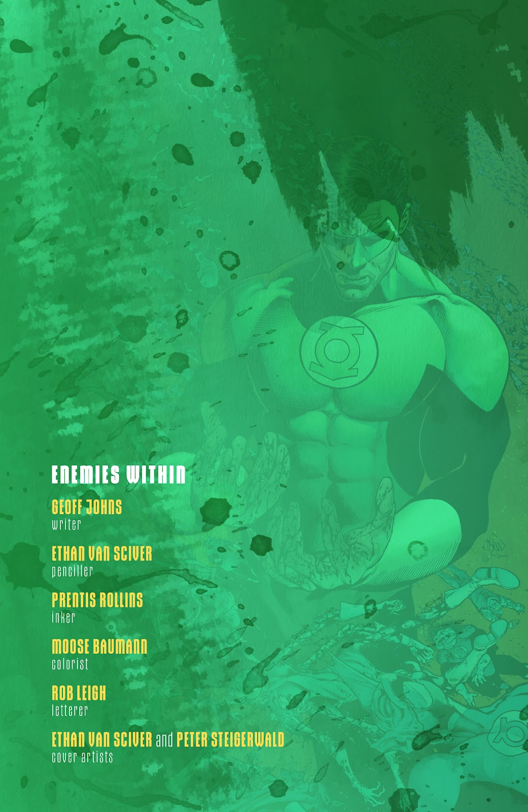 Read online Green Lantern by Geoff Johns comic -  Issue # TPB 1 (Part 1) - 43