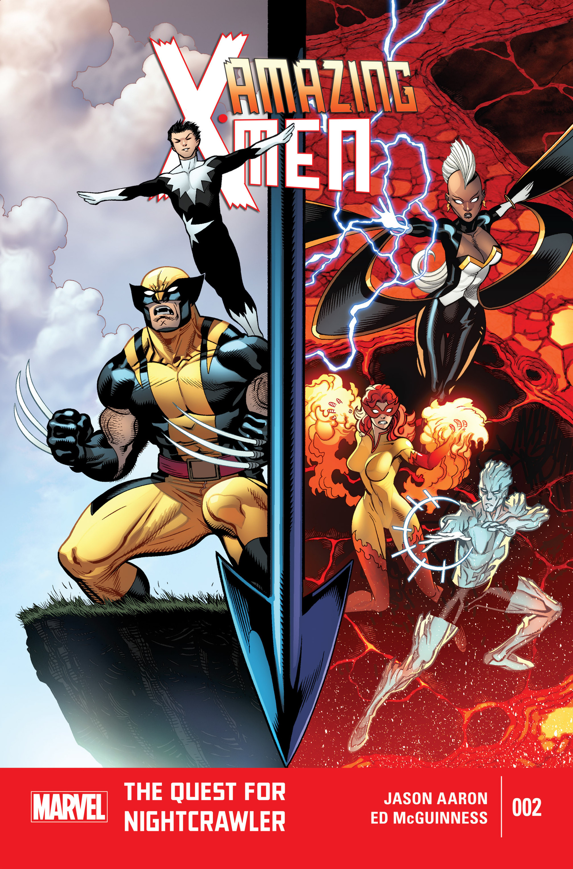 Read online Amazing X-Men (2014) comic -  Issue #2 - 1