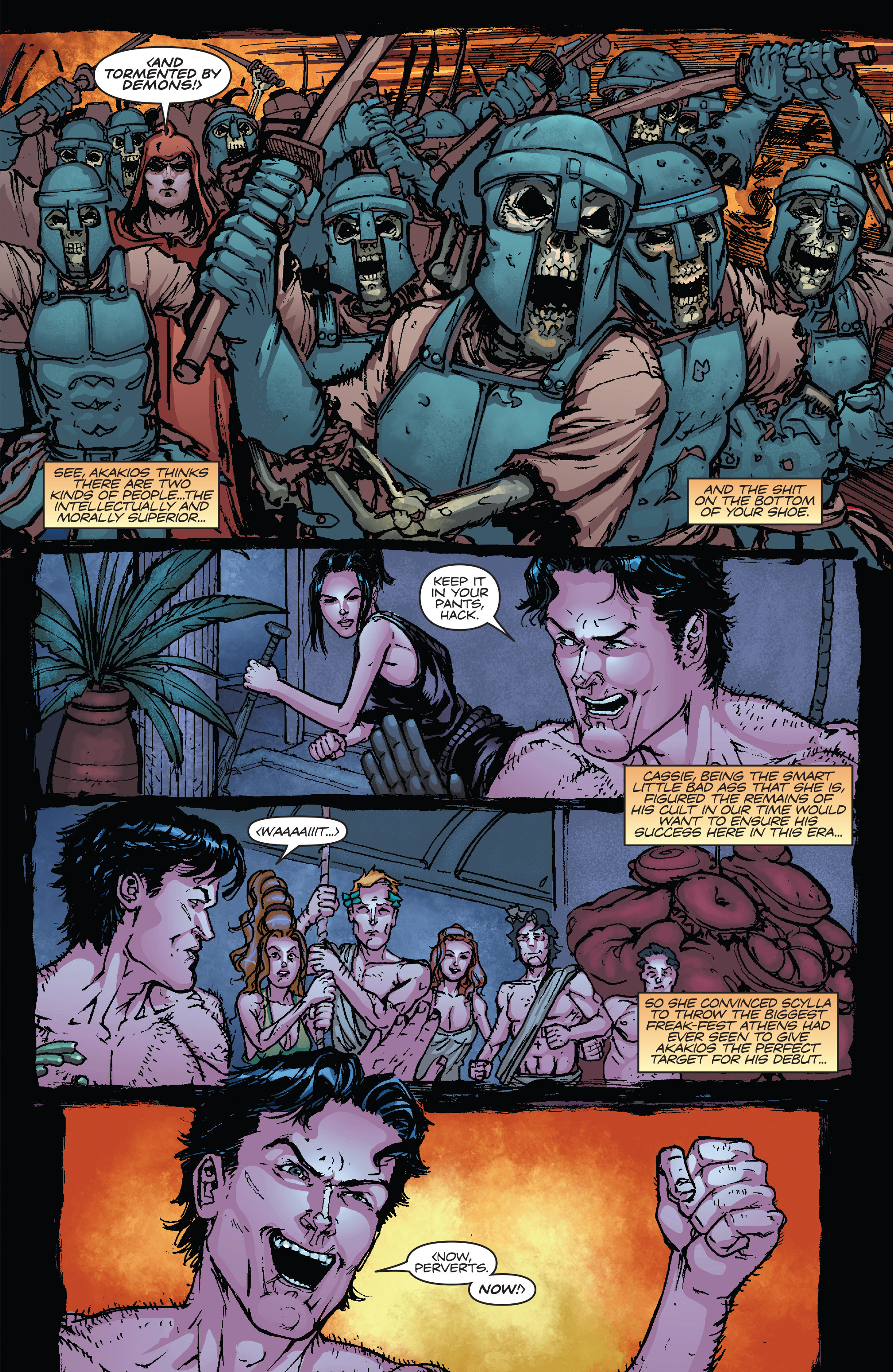 Read online Army of Darkness vs. Hack/Slash comic -  Issue #5 - 17