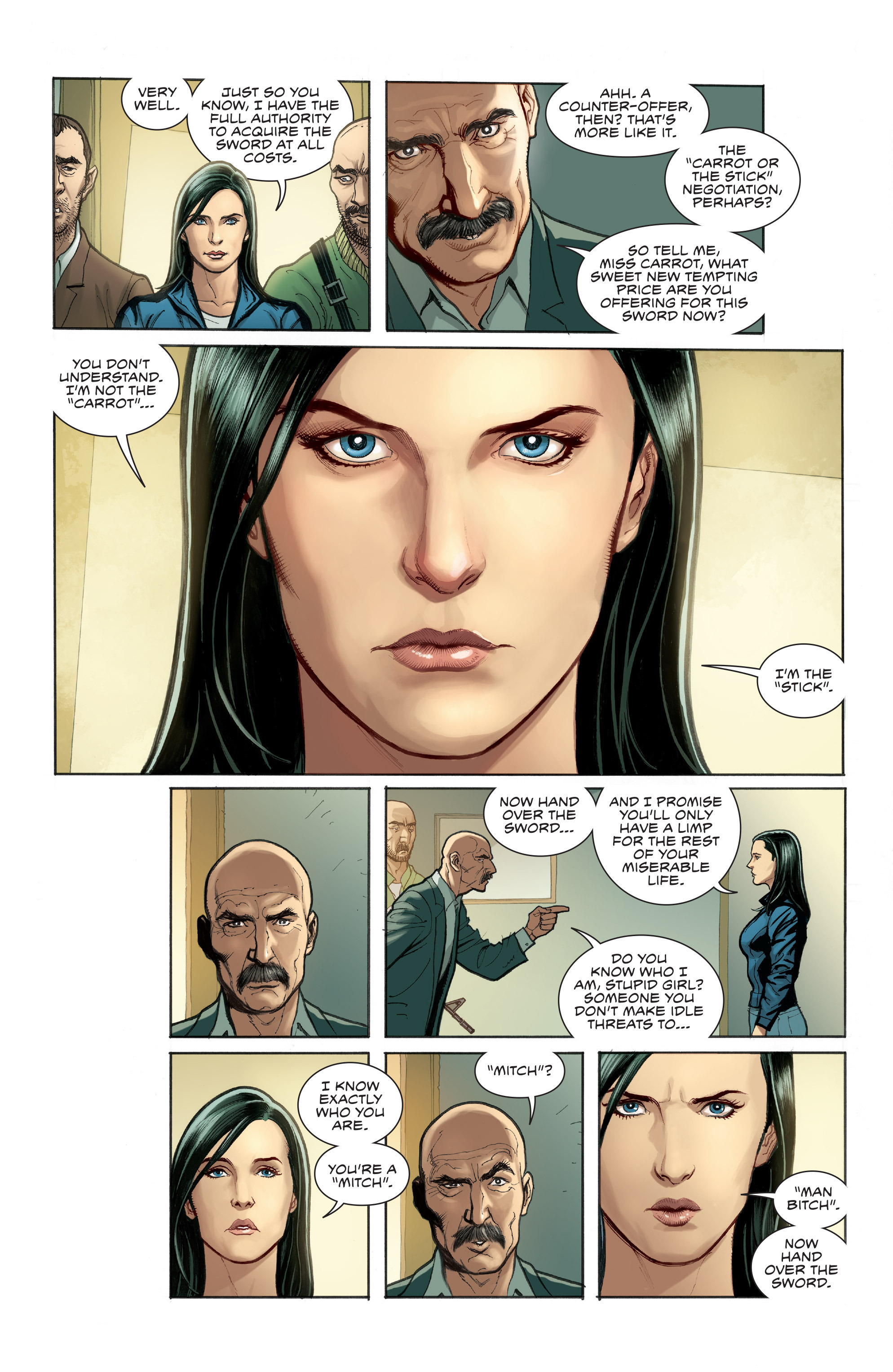 Read online Skybourne comic -  Issue #1 - 9