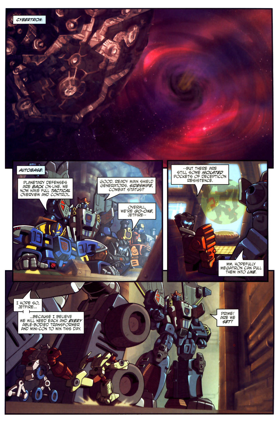 Read online Transformers Armada comic -  Issue #18 - 11