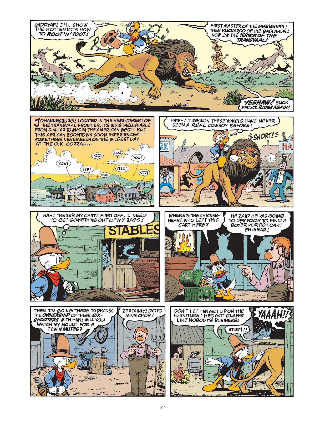 Read online The Complete Life and Times of Scrooge McDuck comic -  Issue # TPB 1 (Part 2) - 4