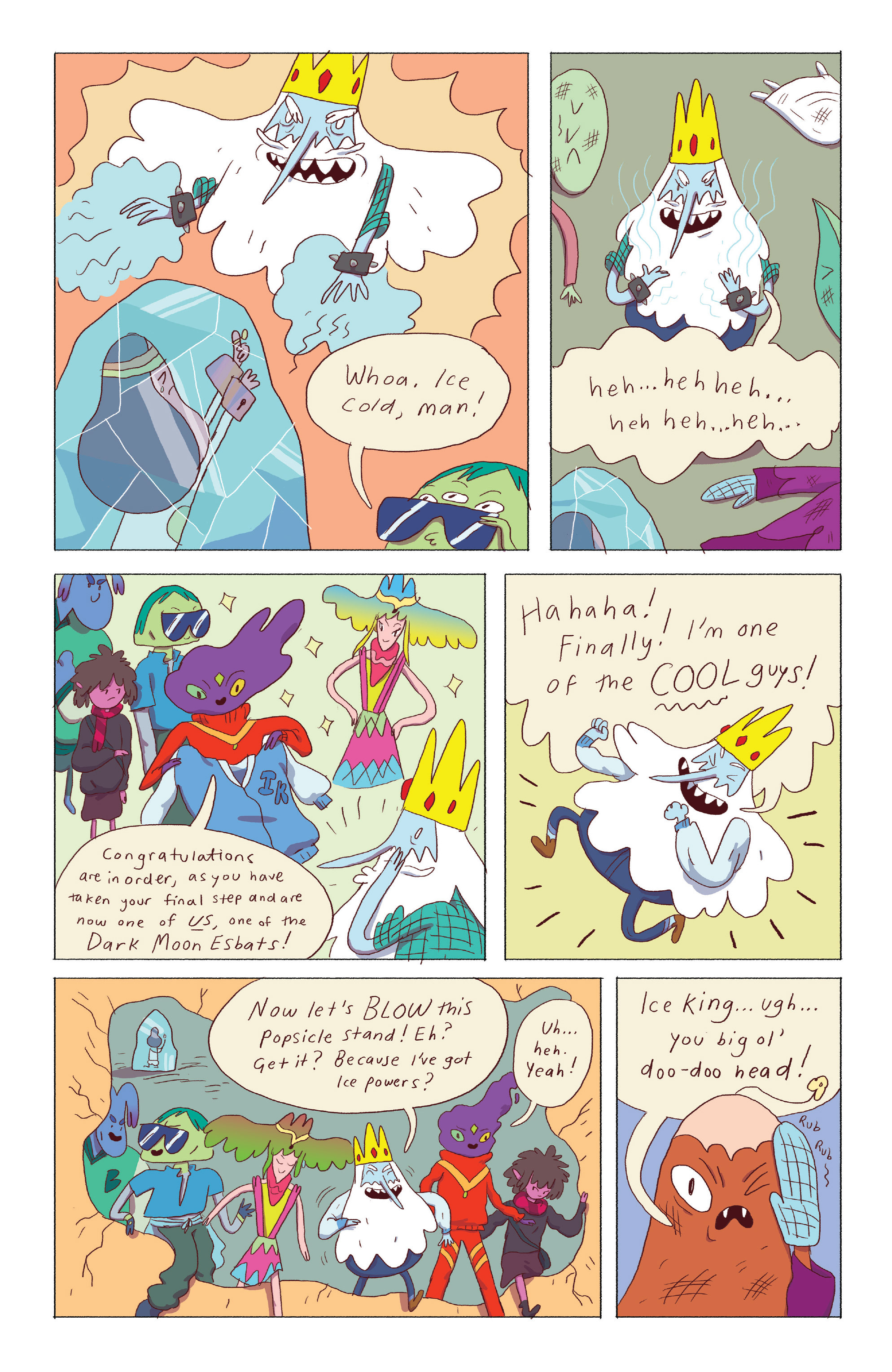 Read online Adventure Time: Ice King comic -  Issue #4 - 18