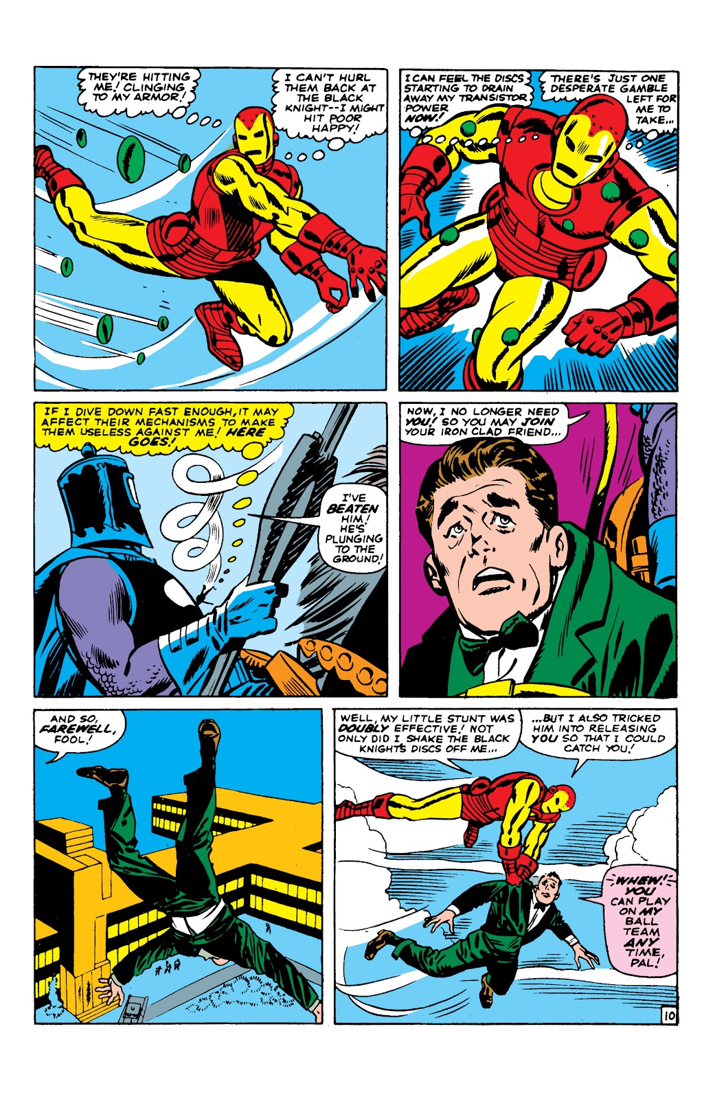 Read online Marvel Masterworks: The Invincible Iron Man comic -  Issue # TPB 2 (Part 2) - 51