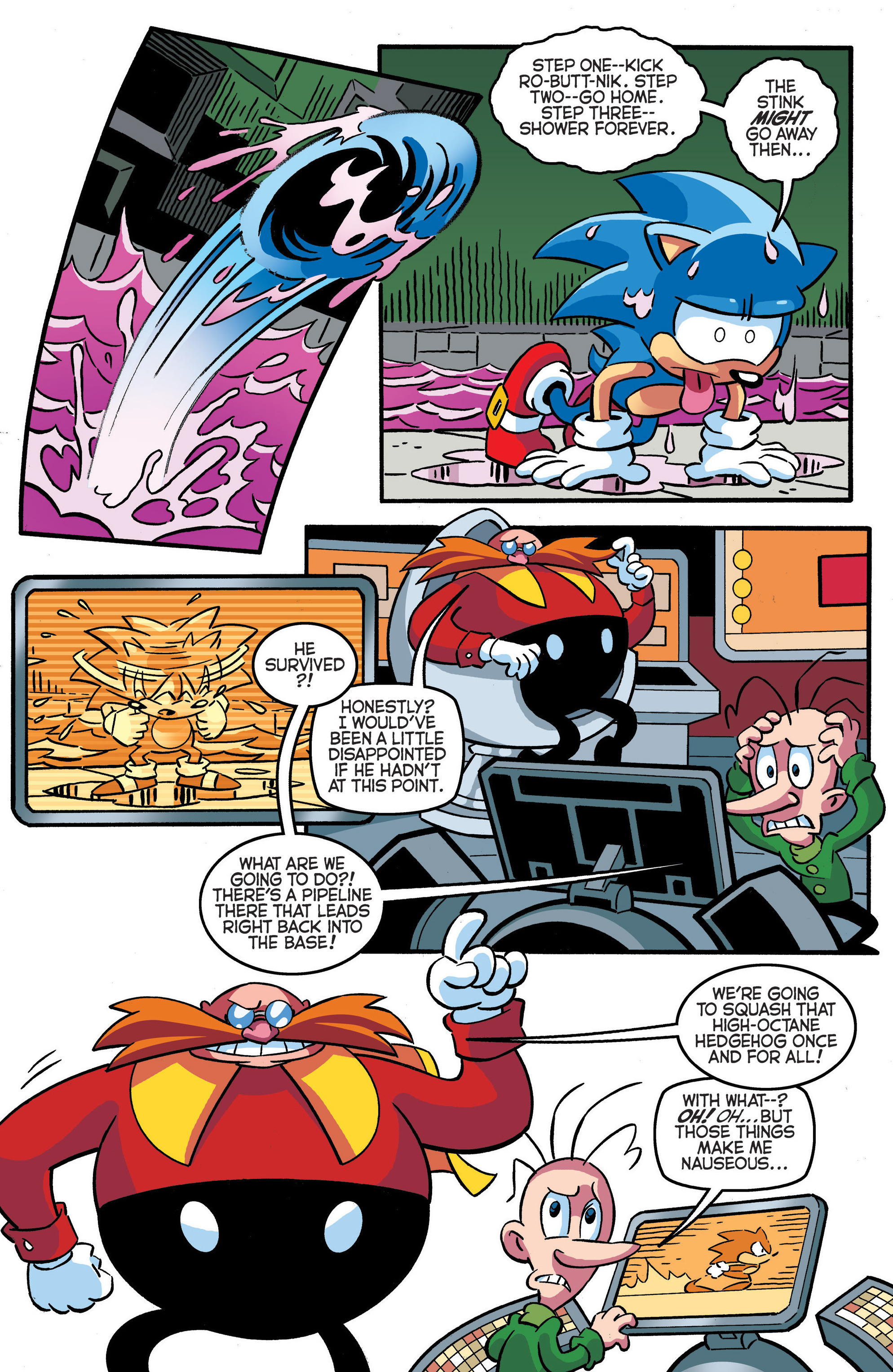 Read online Sonic The Hedgehog comic -  Issue #288 - 9