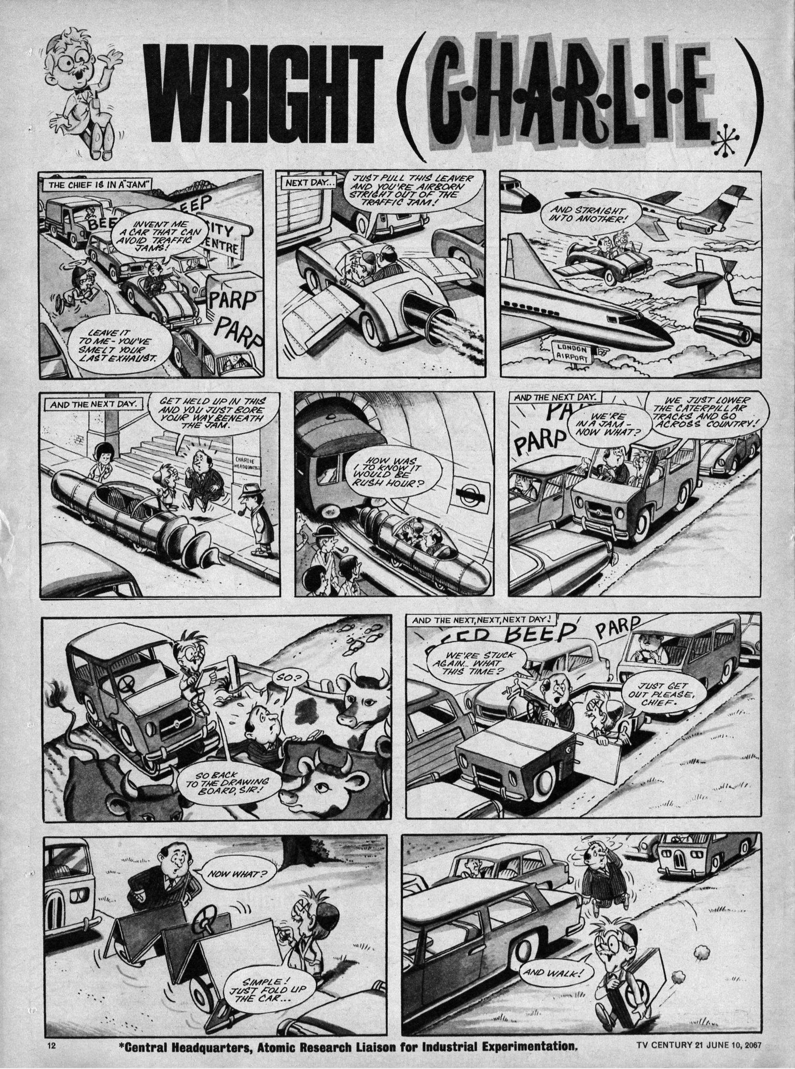 Read online TV Century 21 (TV 21) comic -  Issue #125 - 11