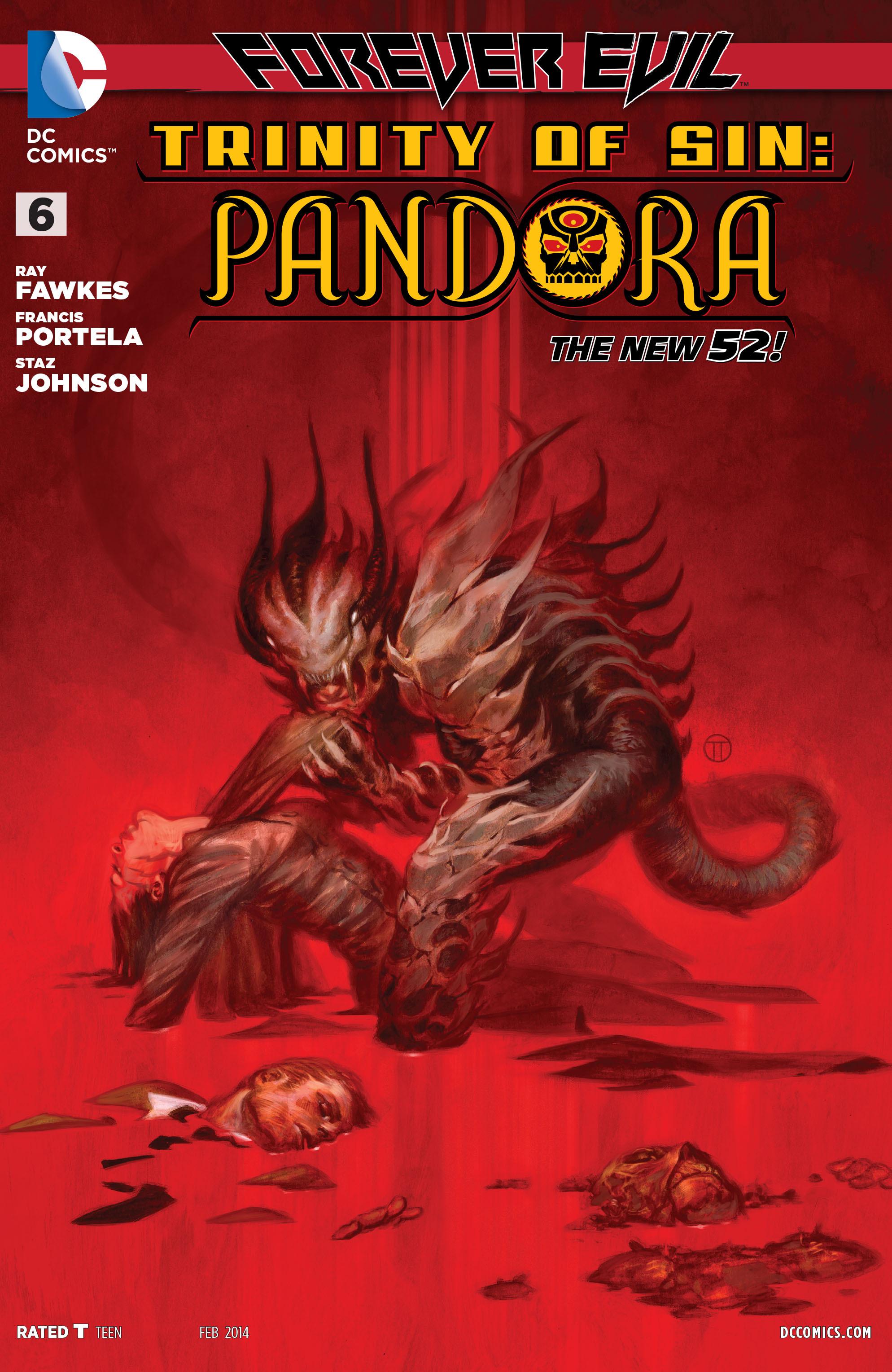 Read online Trinity of Sin: Pandora comic -  Issue #6 - 1