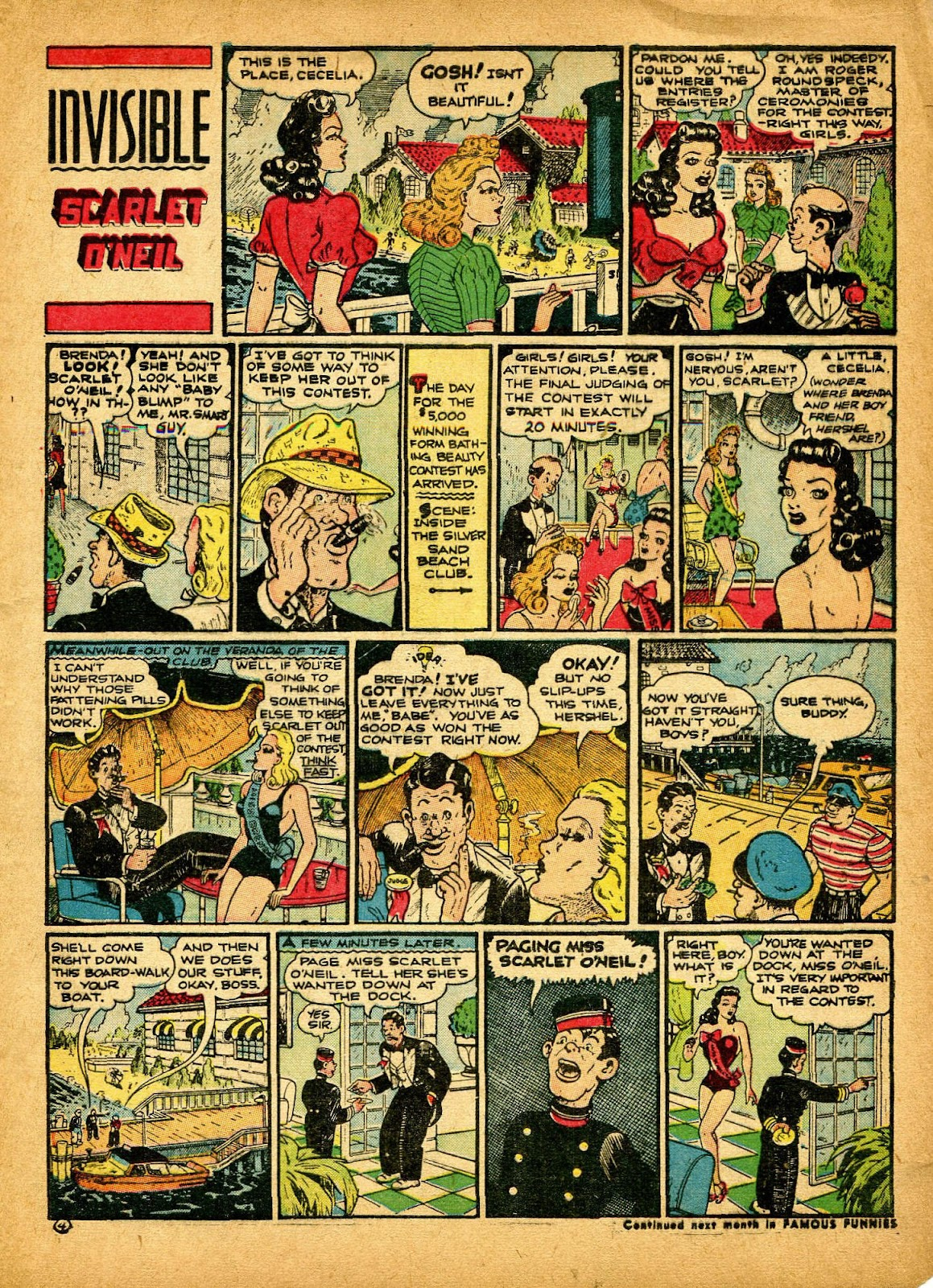 Read online Famous Funnies comic -  Issue #84 - 9