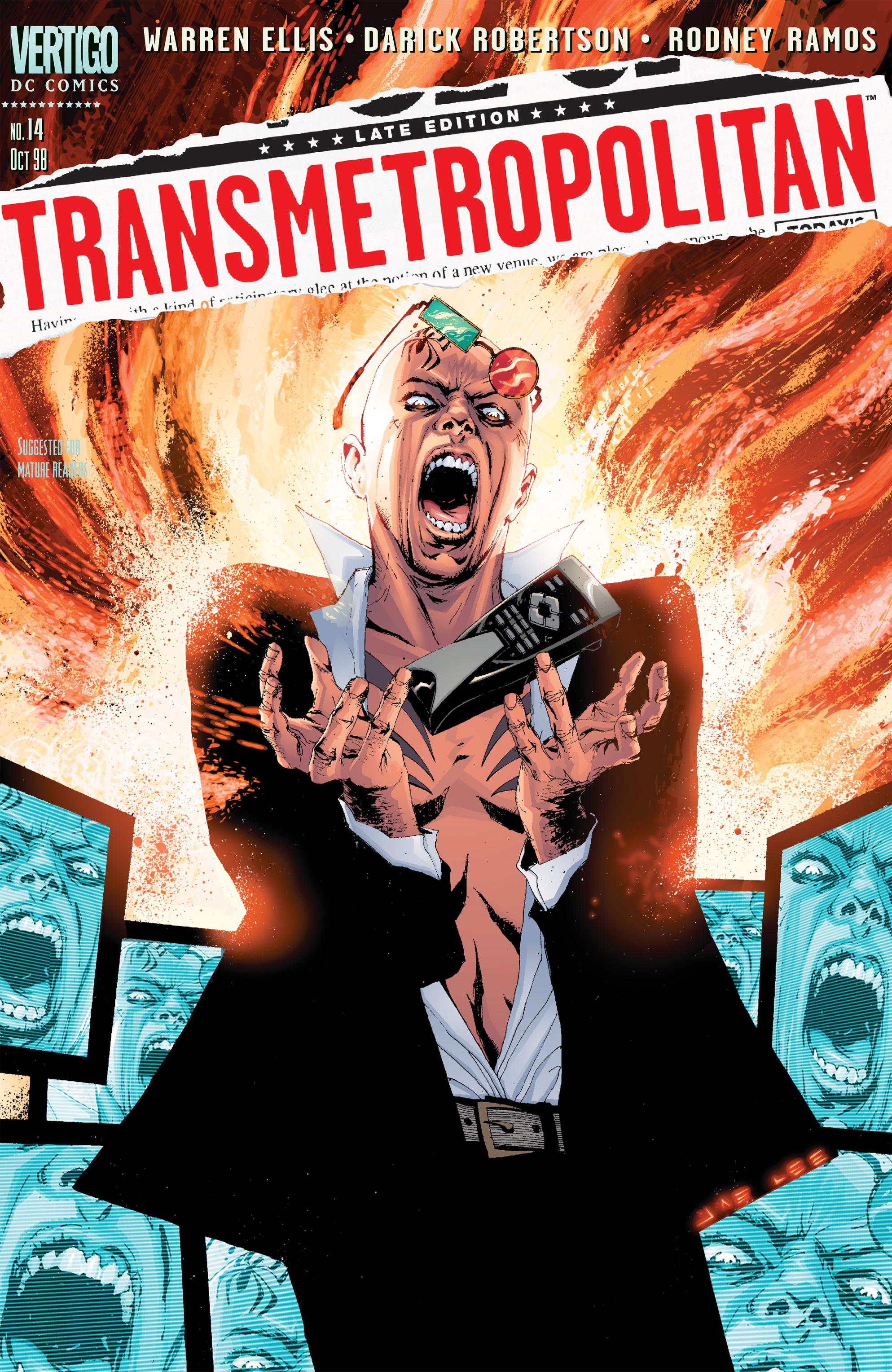 Read online Transmetropolitan comic -  Issue #14 - 1