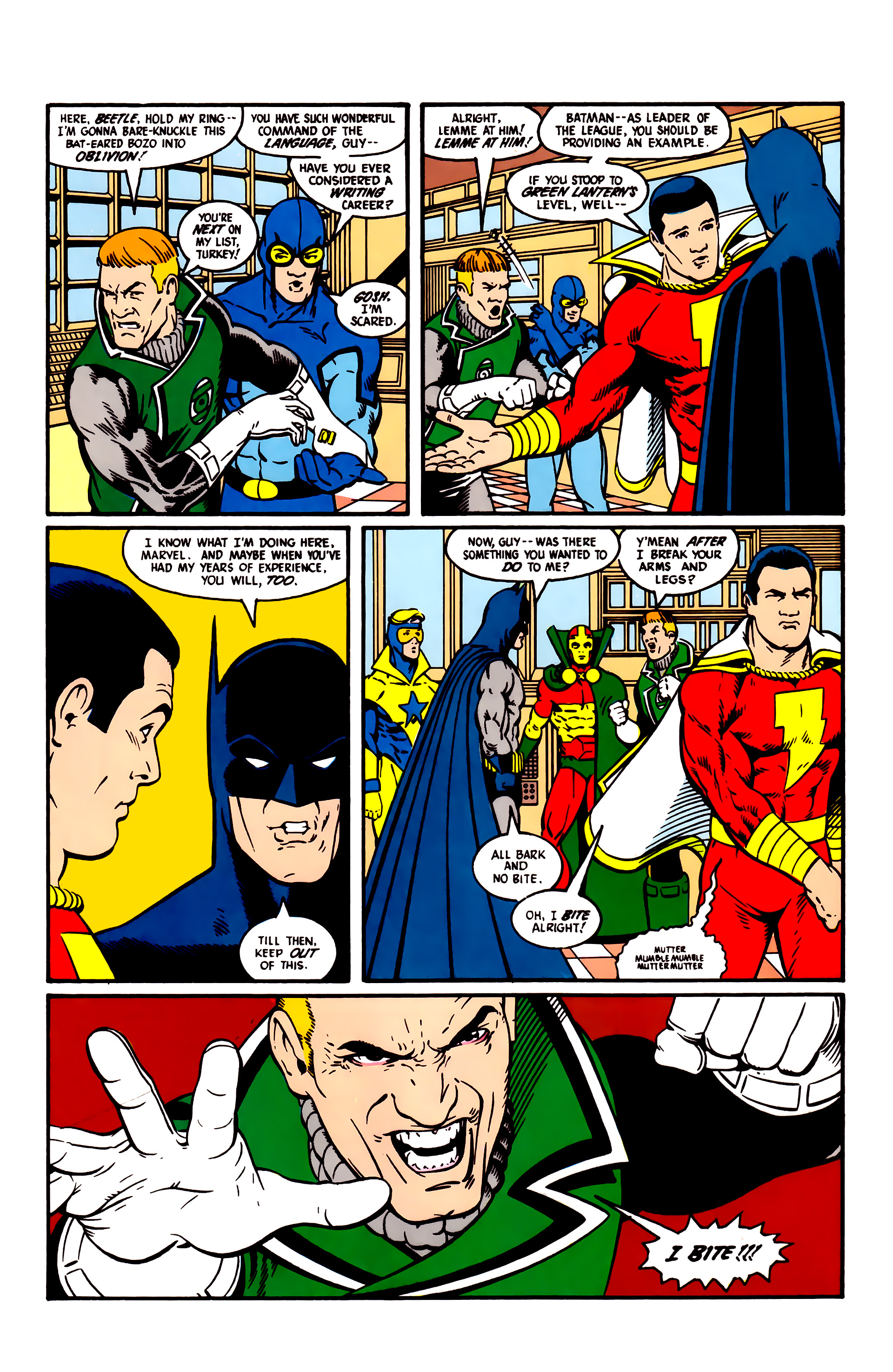 Read online Justice League (1987) comic -  Issue #5 - 14