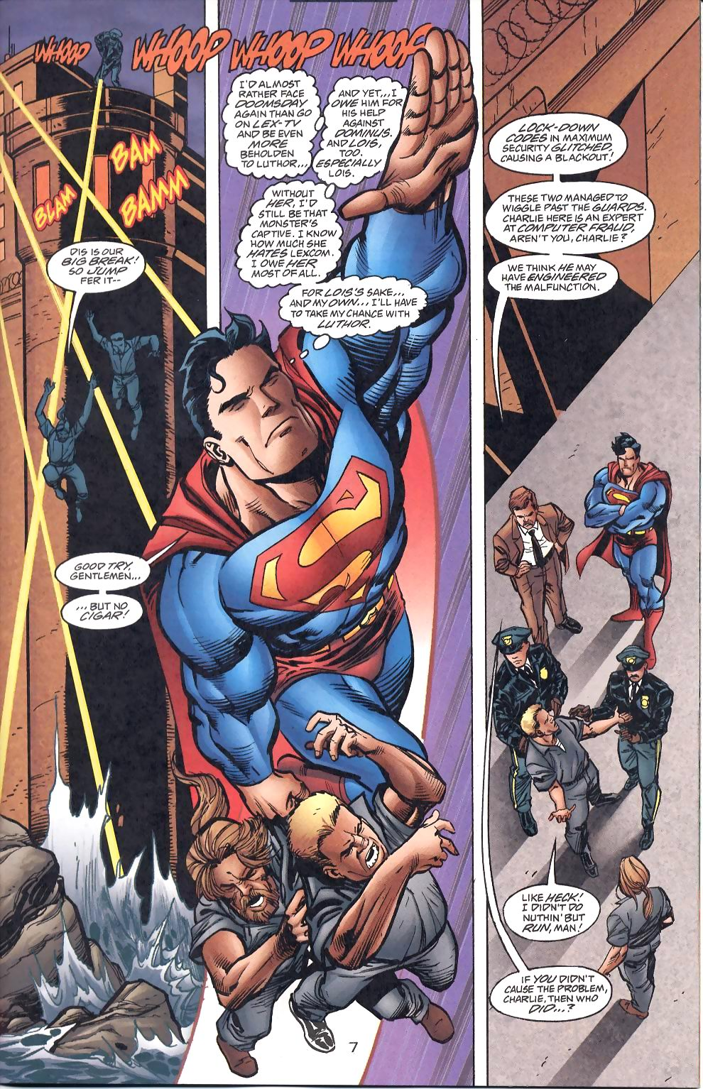 Read online Adventures of Superman (1987) comic -  Issue #568 - 9
