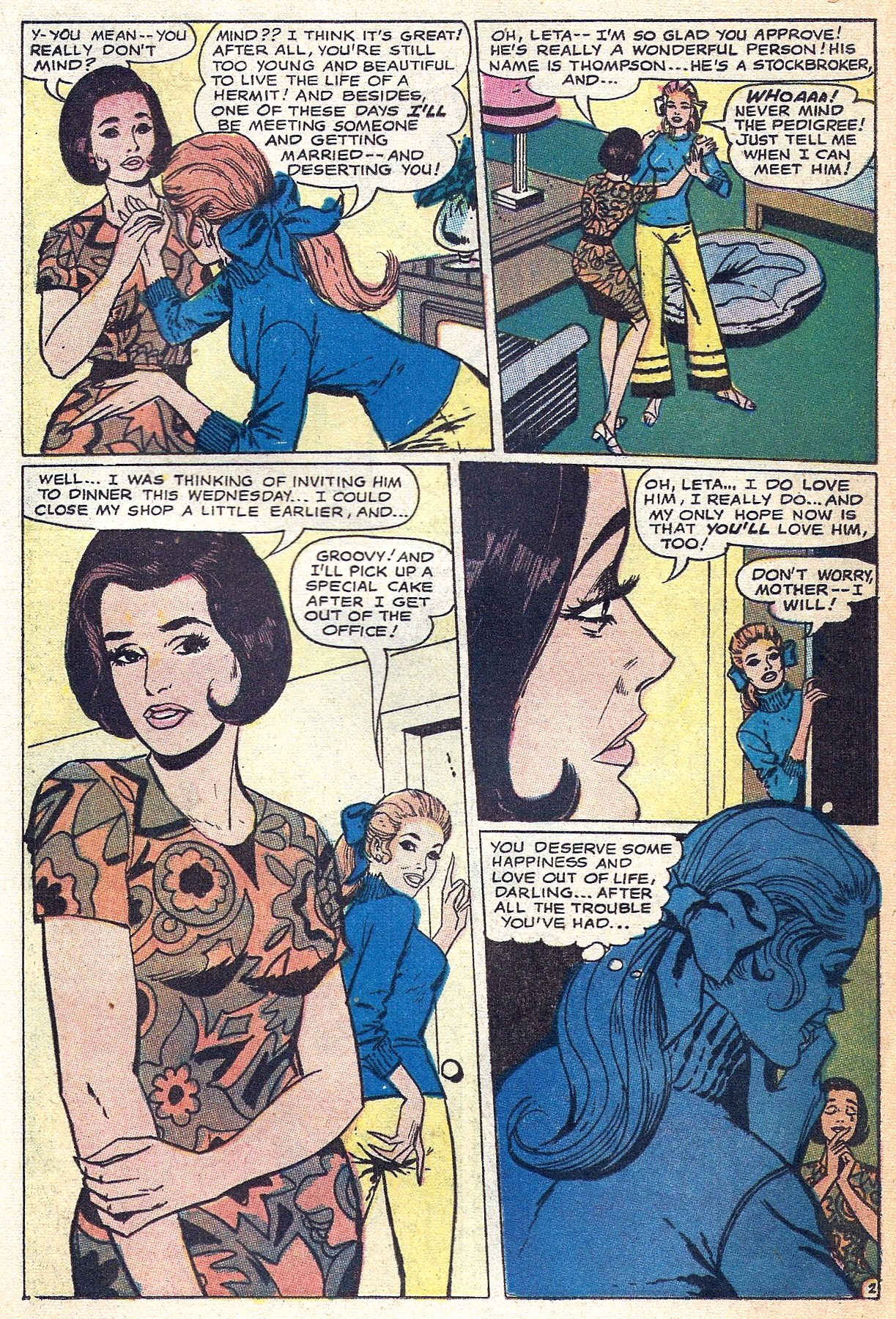 Read online Secret Hearts comic -  Issue #140 - 17
