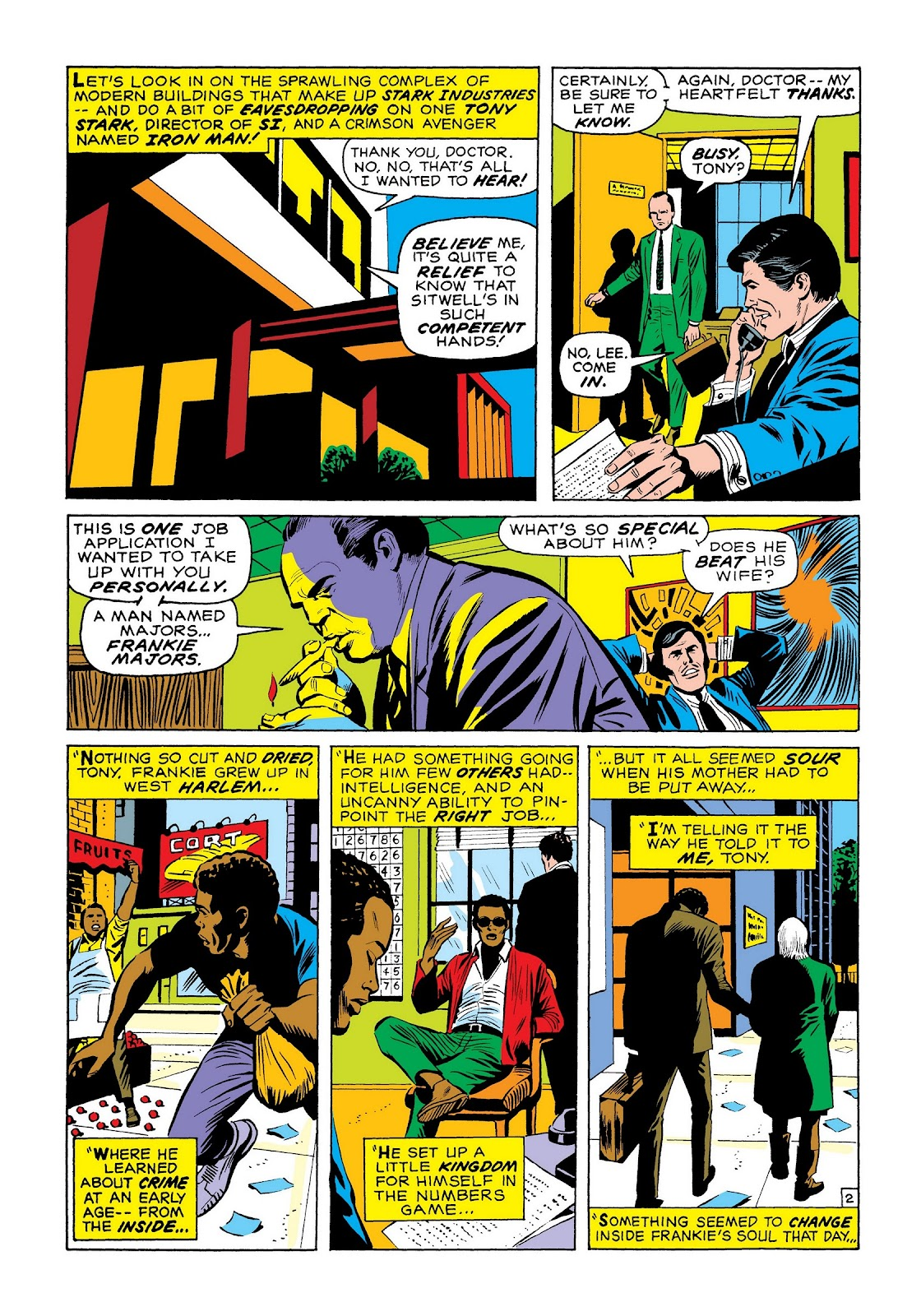 Read online Marvel Masterworks: The Invincible Iron Man comic -  Issue # TPB 7 (Part 3) - 71
