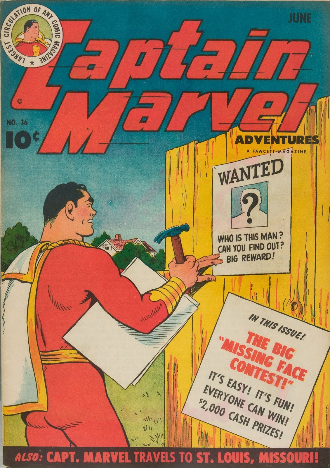 Captain Marvel Adventures issue 36 - Page 1