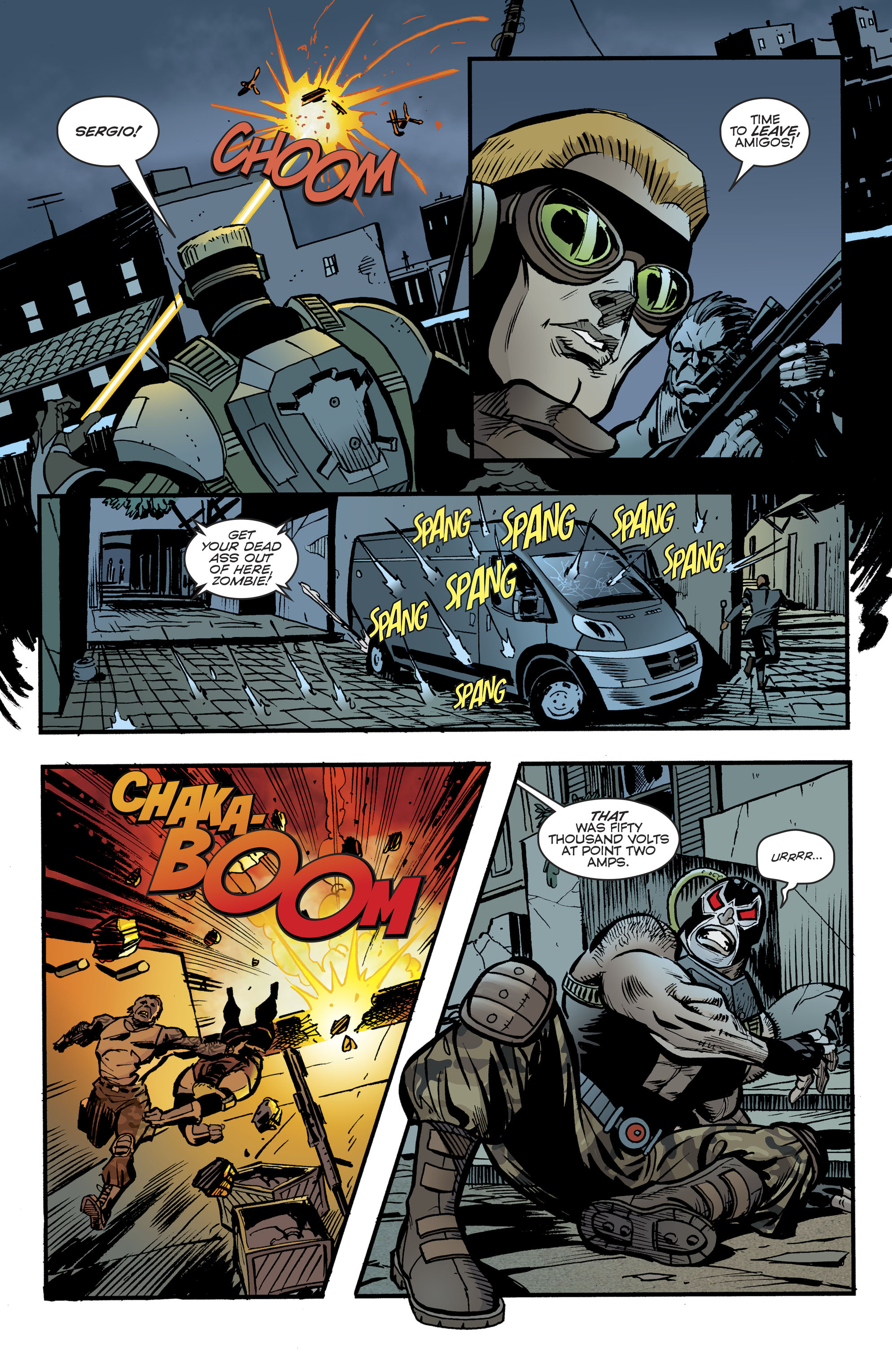 Read online Bane: Conquest comic -  Issue #1 - 22