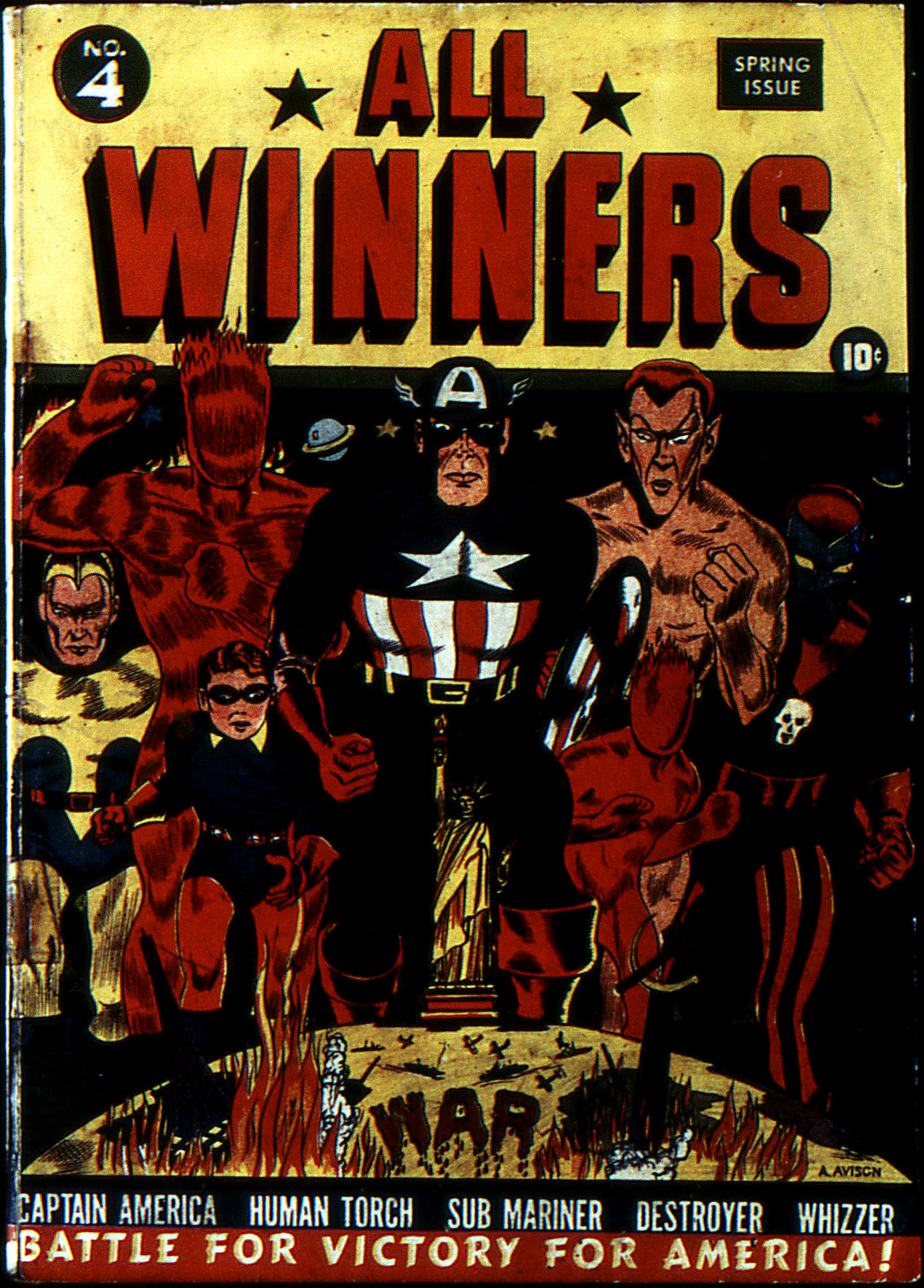 Read online All-Winners Comics comic -  Issue #4 - 2