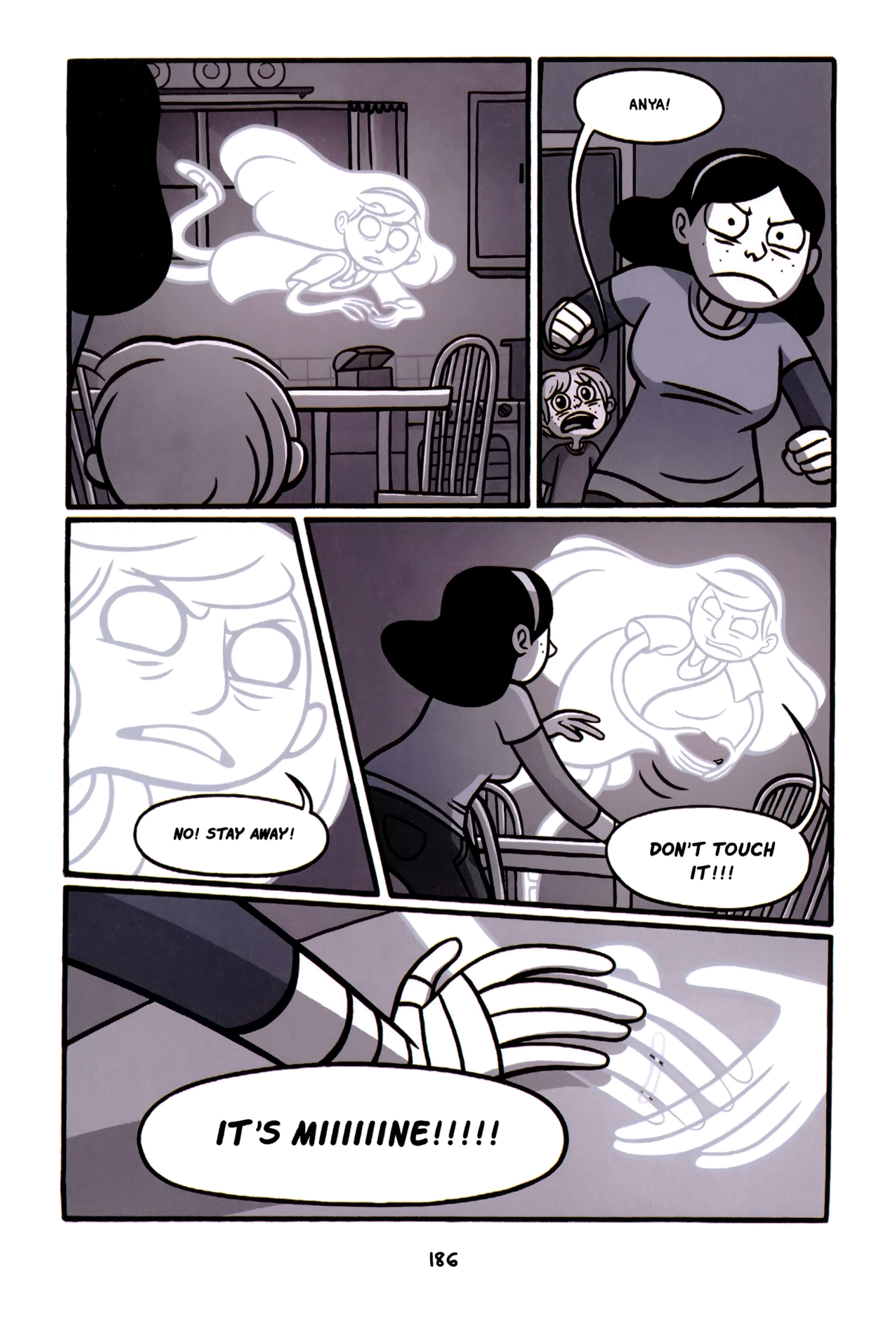 Read online Anya's Ghost comic -  Issue #1 - 187