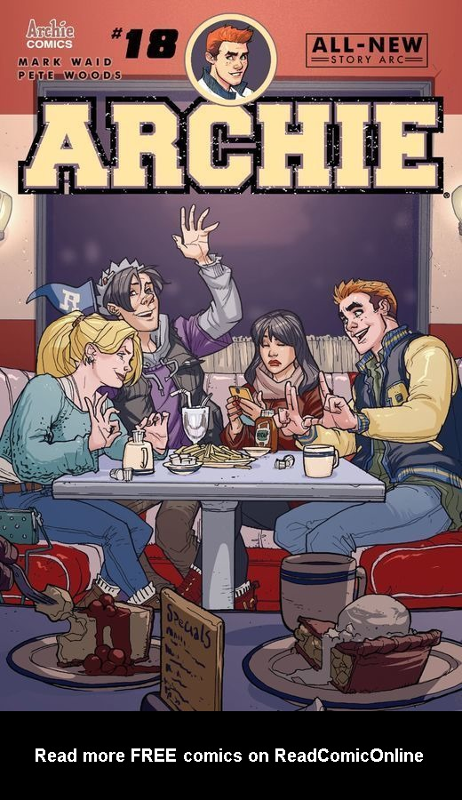 Read online Archie (2015) comic -  Issue #18 - 1