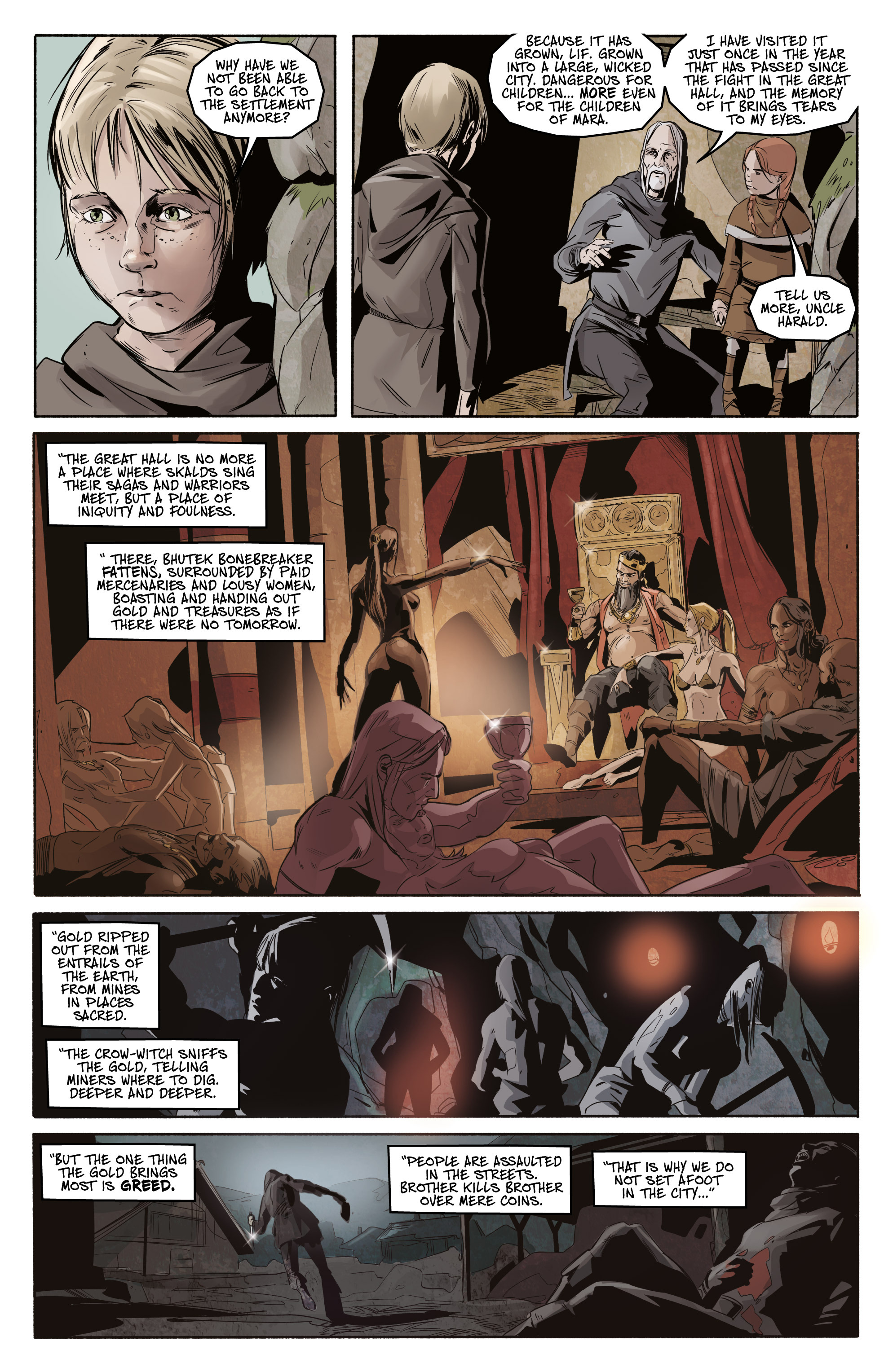 Read online Ghost Wolf comic -  Issue #3 - 16